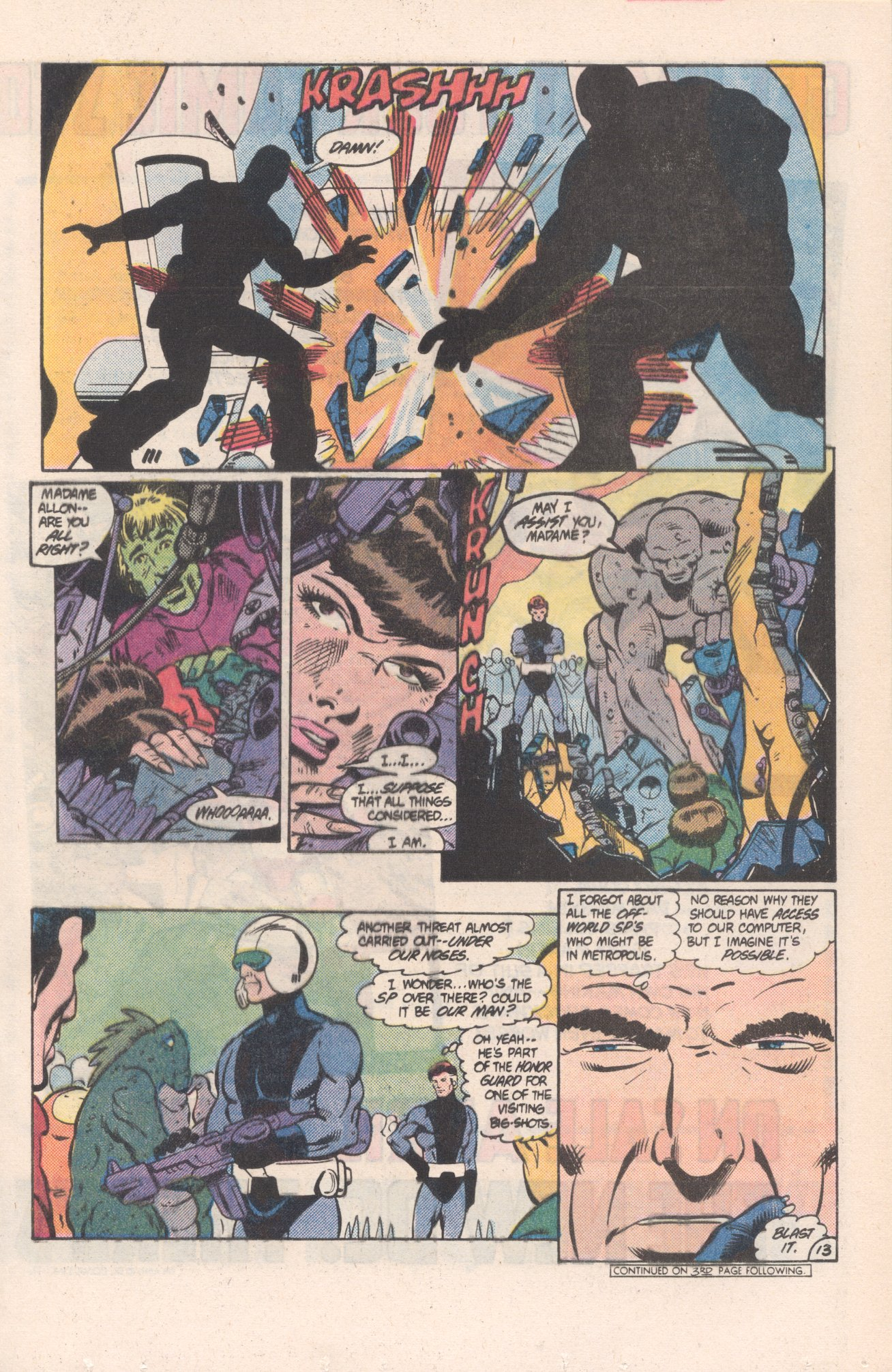 Legion of Super-Heroes (1980) 313 Page 13