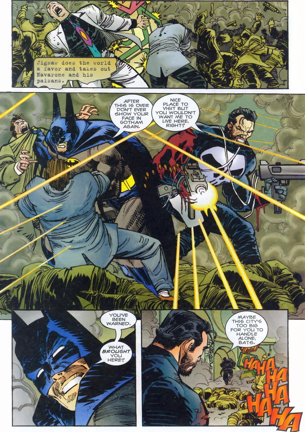 Read online Punisher/Batman: Deadly Knights comic -  Issue # Full - 34