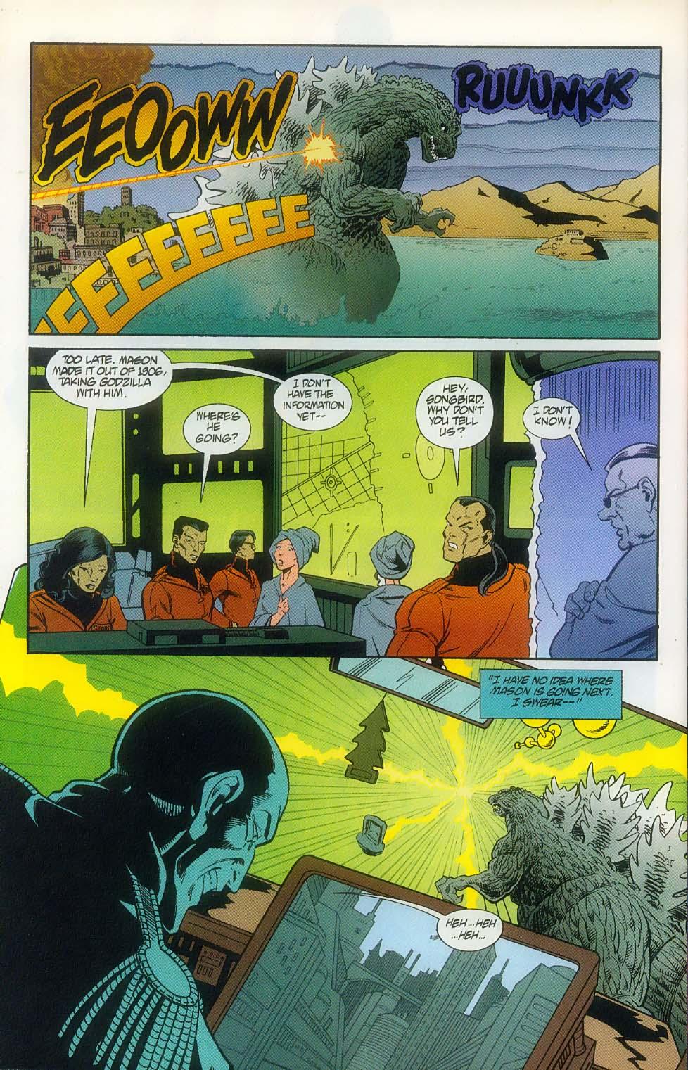 Godzilla (1995) Issue #11 #12 - English 26