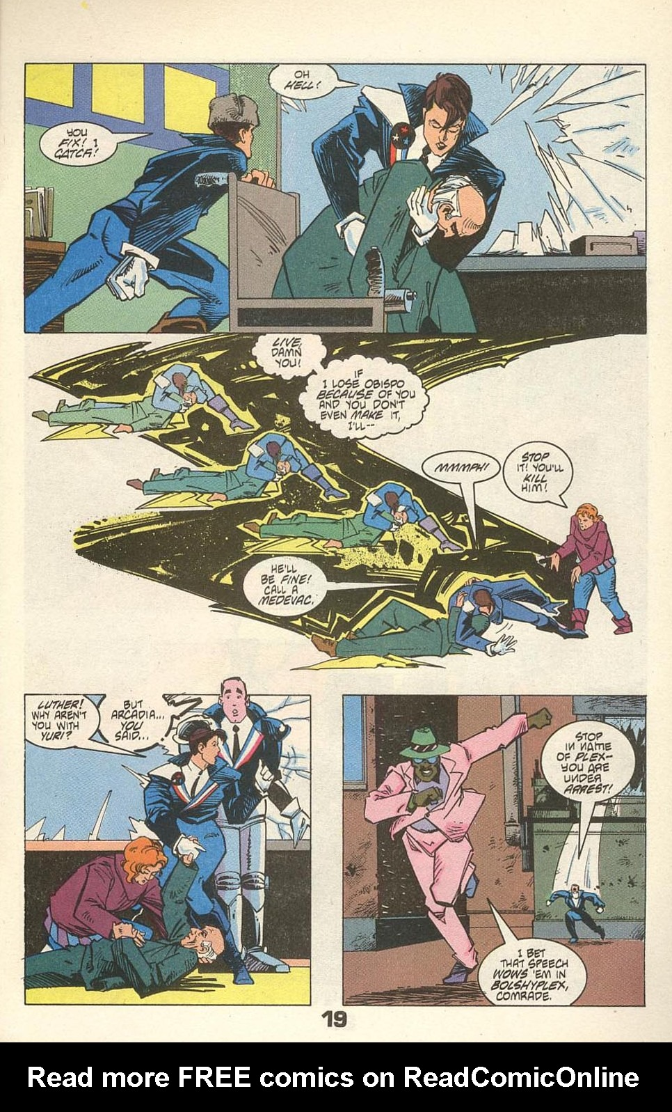 Read online American Flagg! comic -  Issue #31 - 23