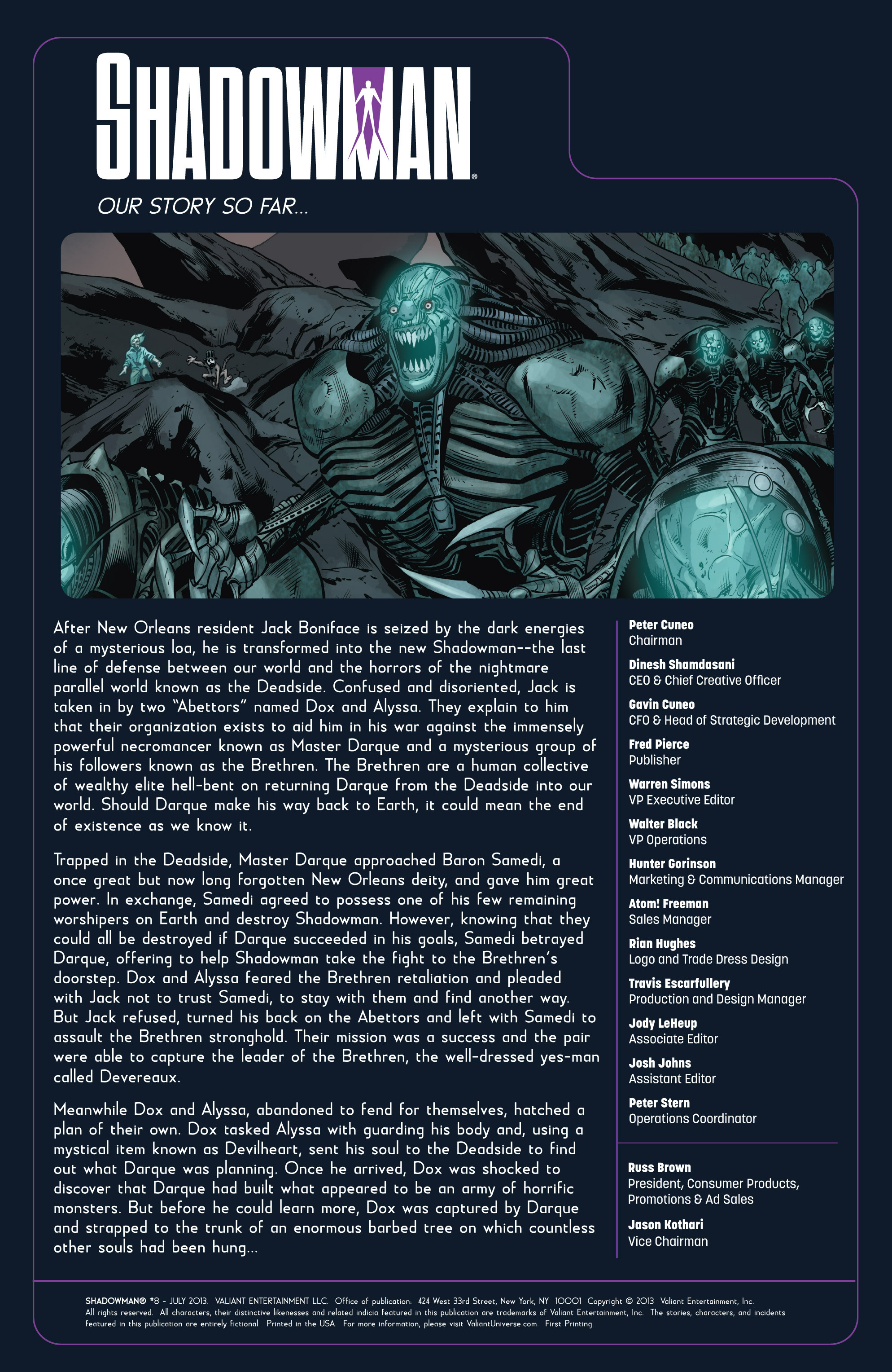 Read online Shadowman (2012) comic -  Issue #8 - 2
