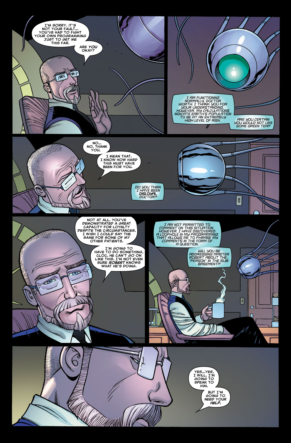 Read online Sentry (2006) comic -  Issue #5 - 5