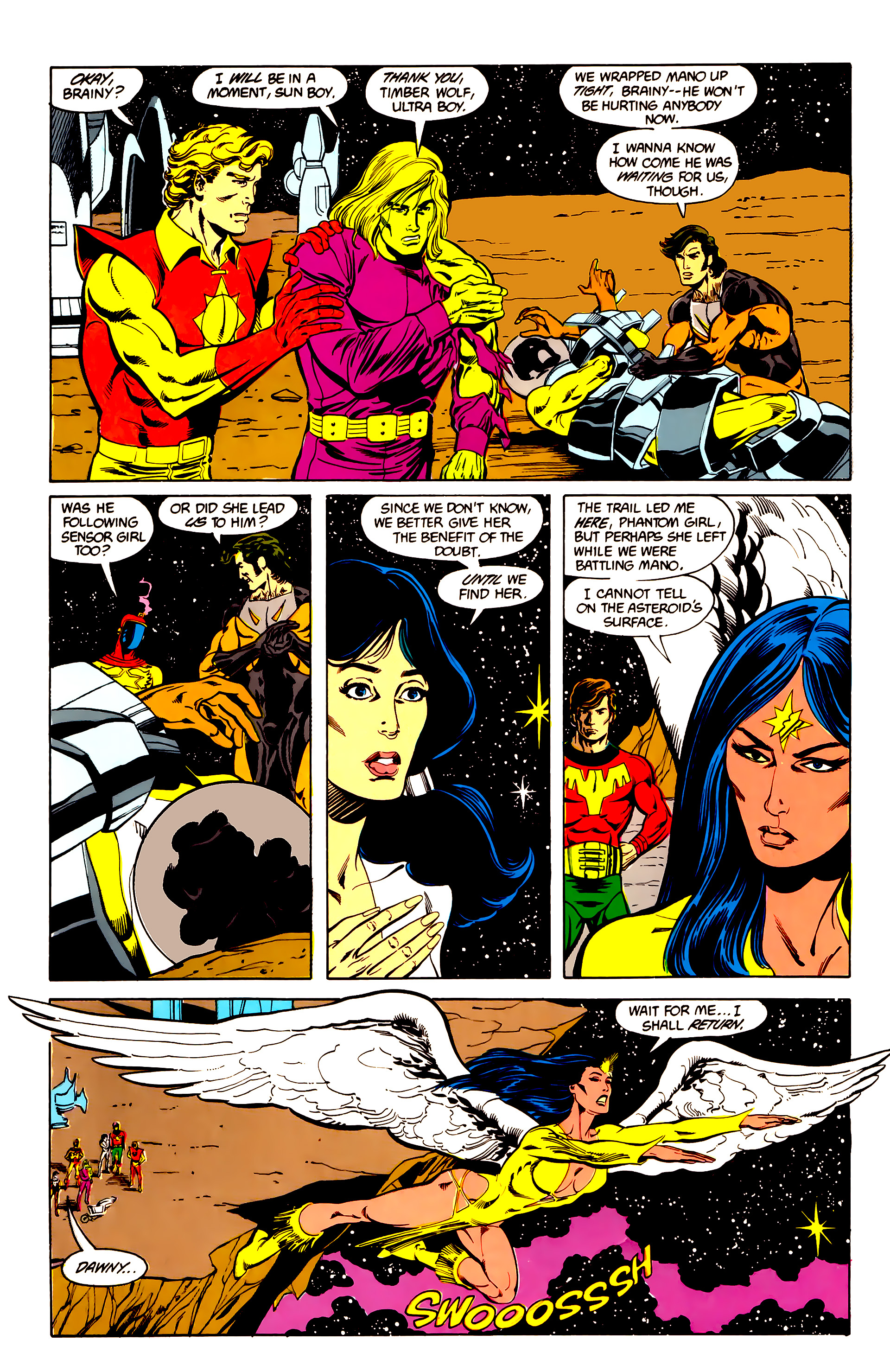 Legion of Super-Heroes (1984) 25 Page 16