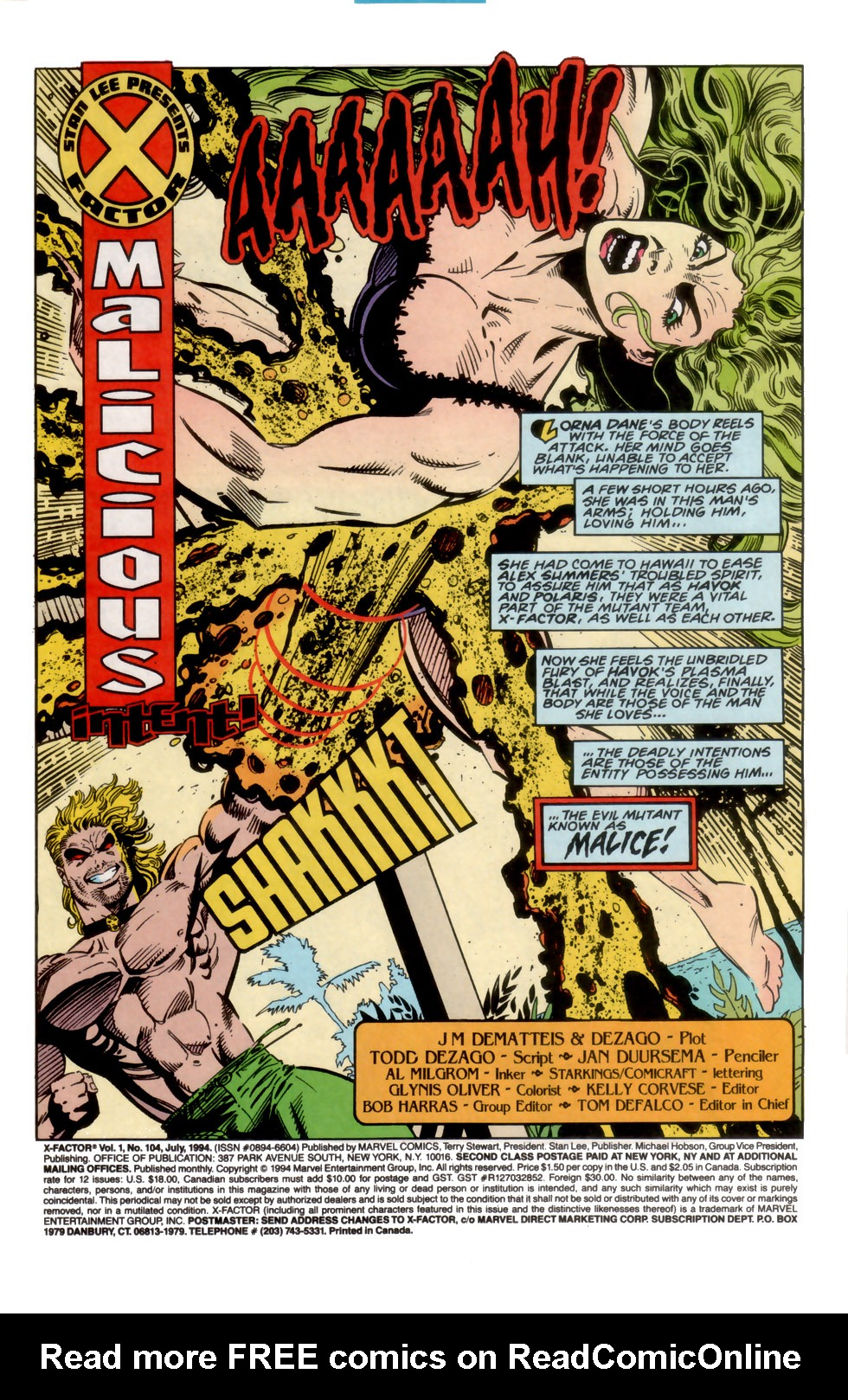 Read online X-Factor (1986) comic -  Issue #104 - 2