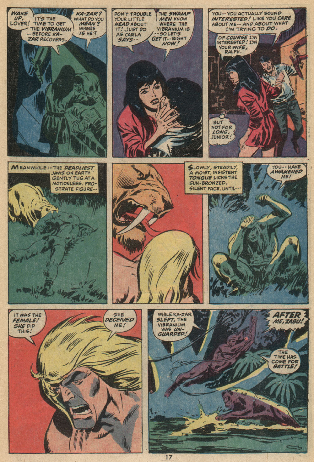 Astonishing Tales (1970) issue 14 - Page 12