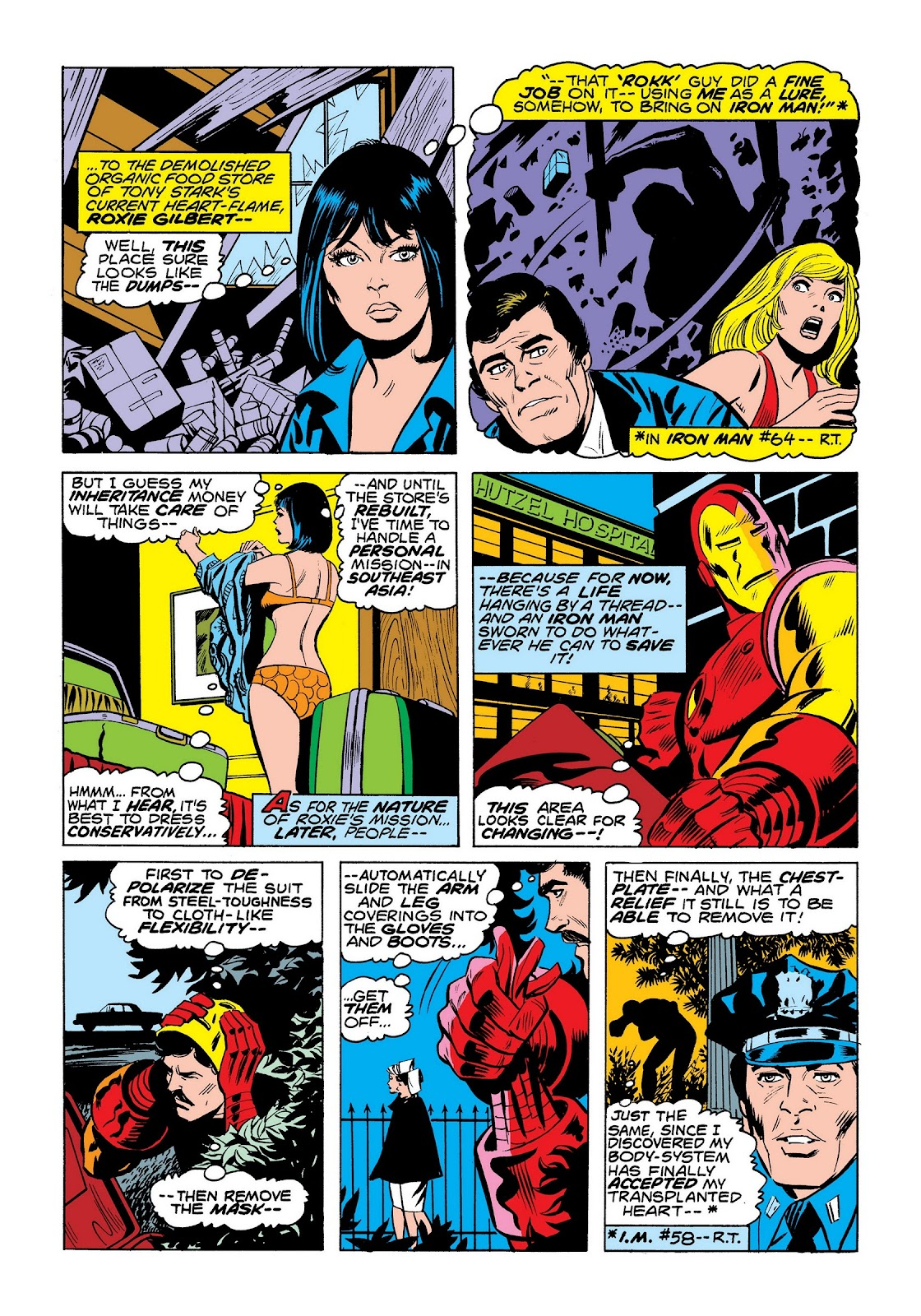 Read online Marvel Masterworks: The Invincible Iron Man comic -  Issue # TPB 9 (Part 3) - 79