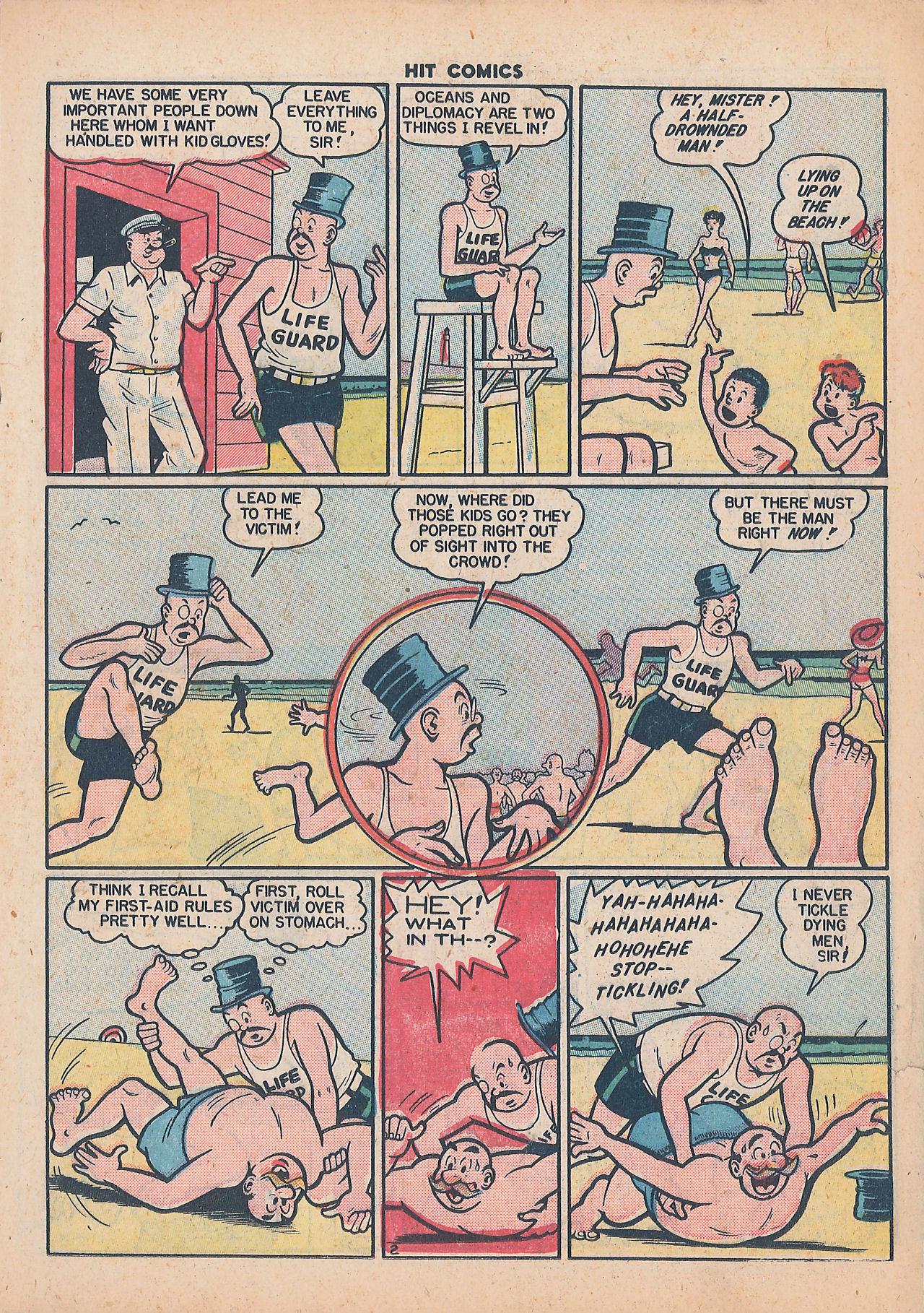 Read online Hit Comics comic -  Issue #64 - 17