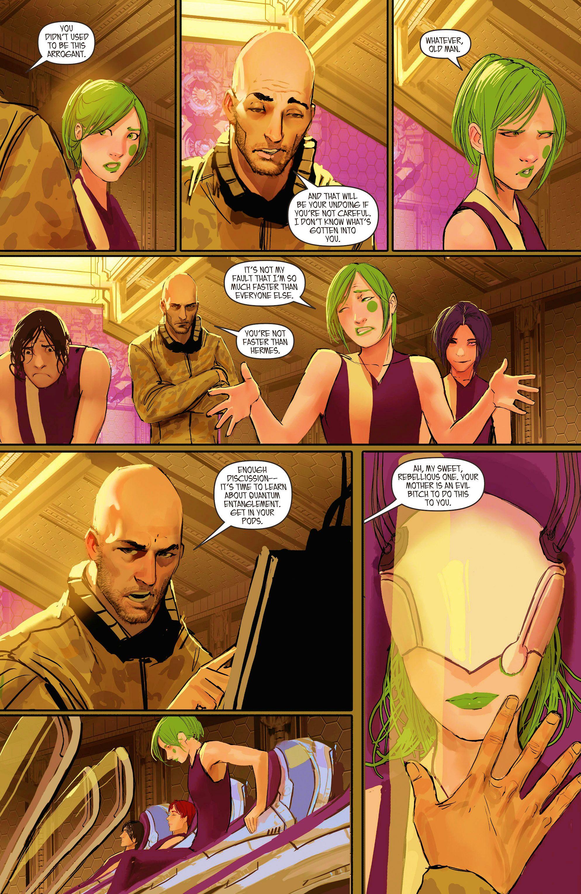 Read online Aphrodite IX (2013) comic -  Issue #10 - 8