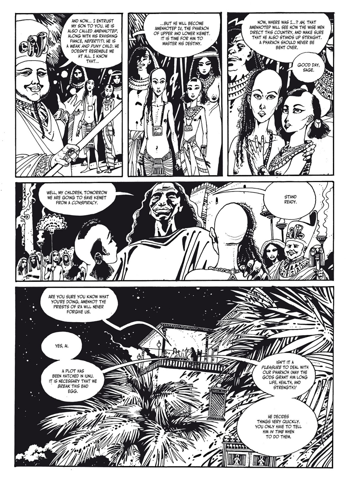 Read online The Egyptian Princesses comic -  Issue # TPB 1 (Part 2) - 48