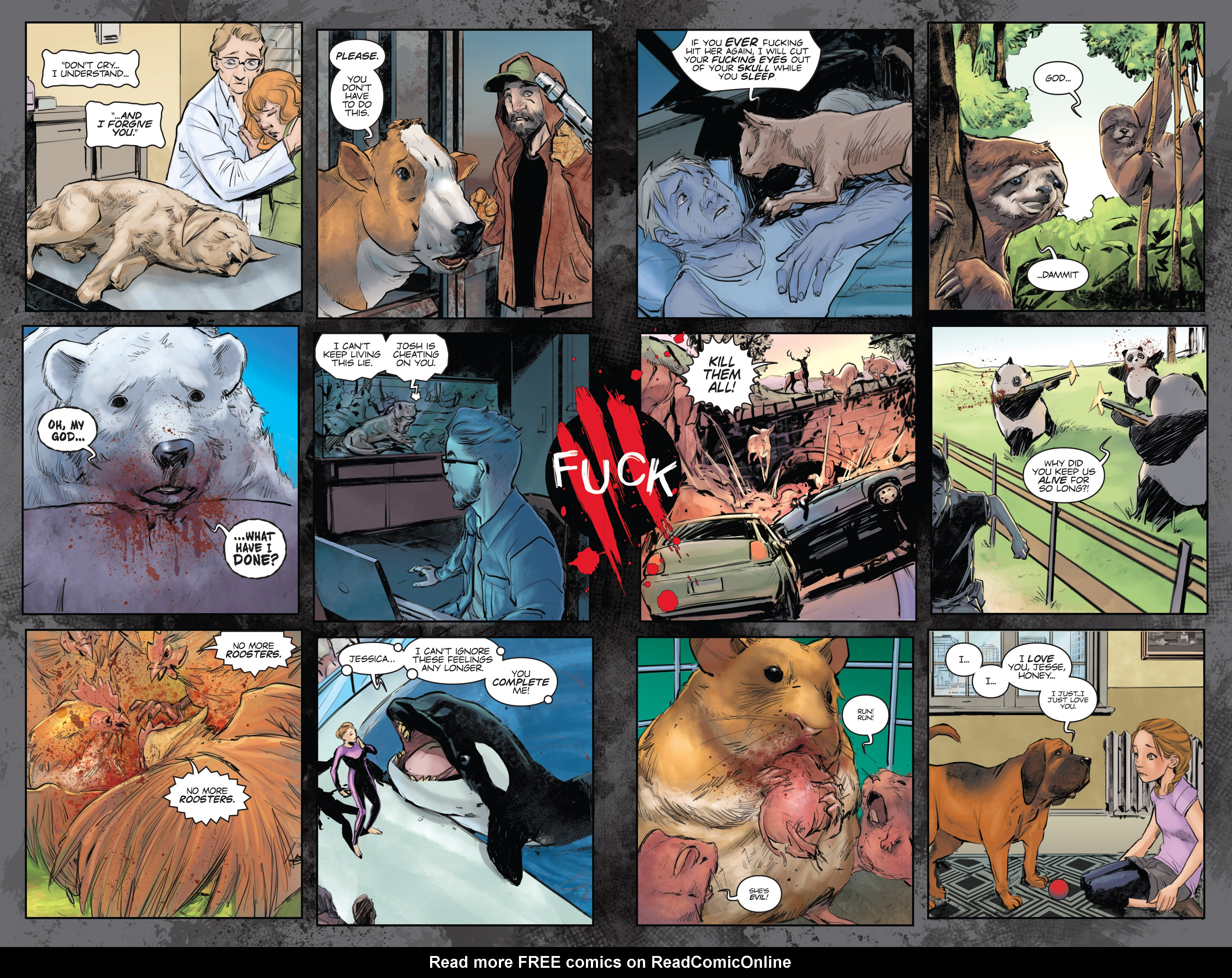 Read online Animosity comic -  Issue #1 - 8