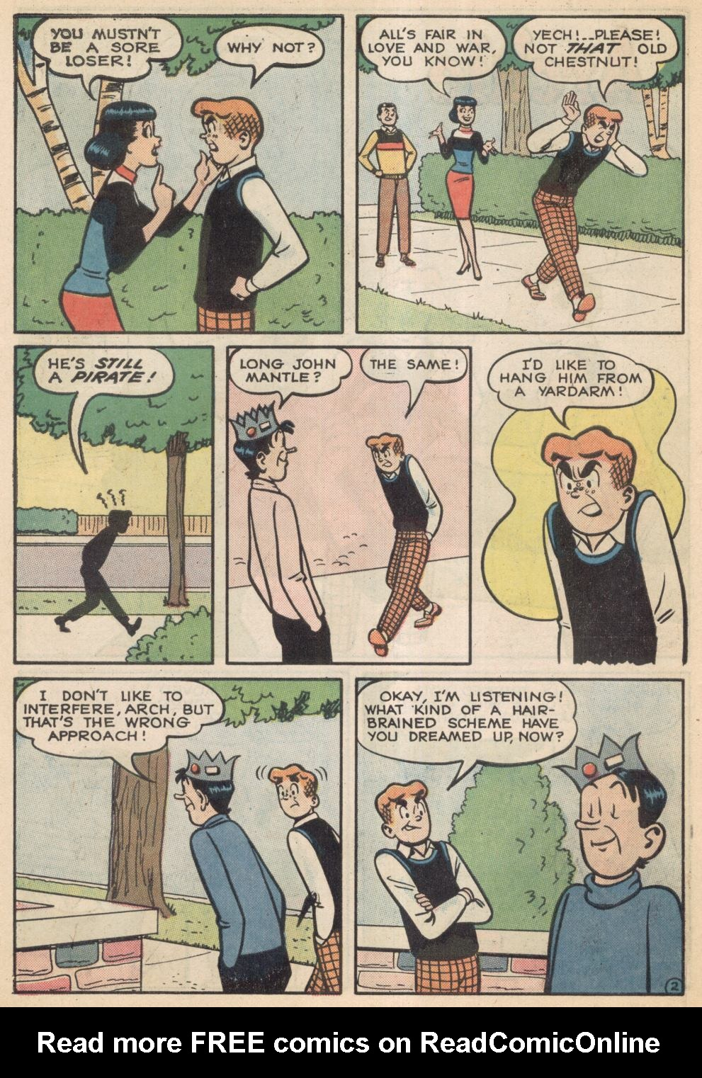Read online Archie (1960) comic -  Issue #137 - 15