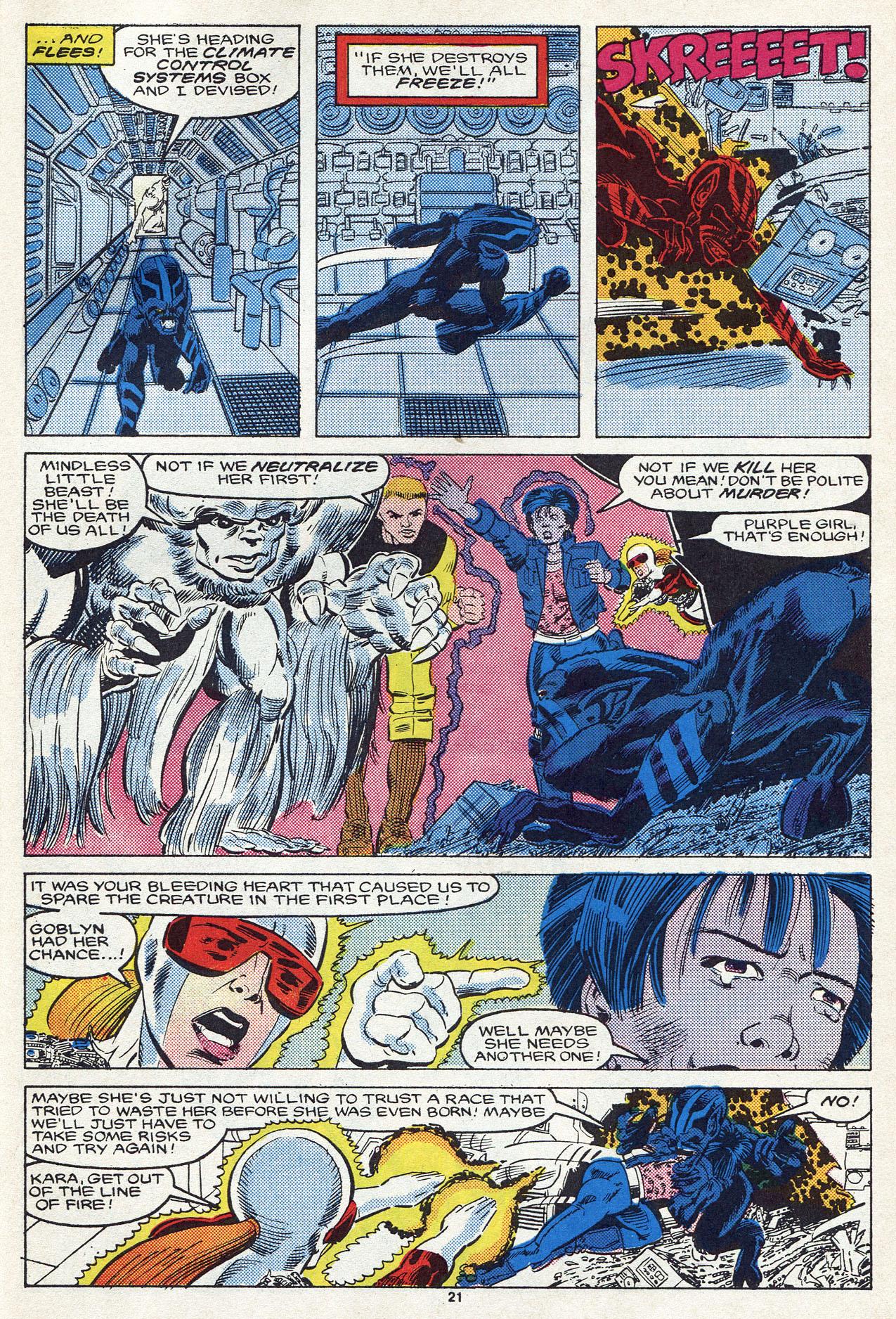 Read online Alpha Flight (1983) comic -  Issue #54 - 30