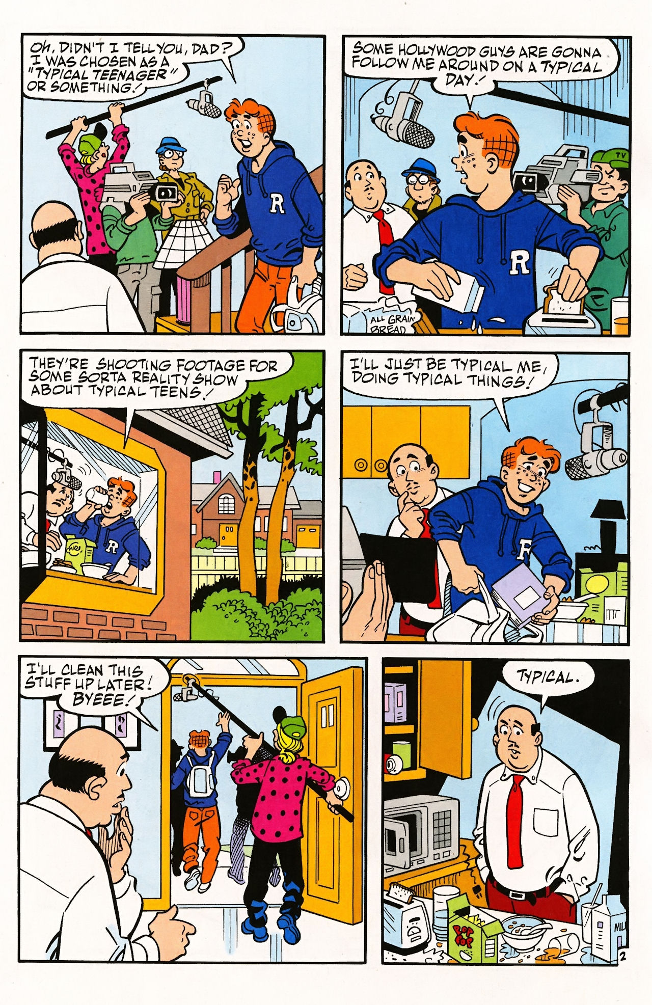 Read online Archie (1960) comic -  Issue #597 - 4