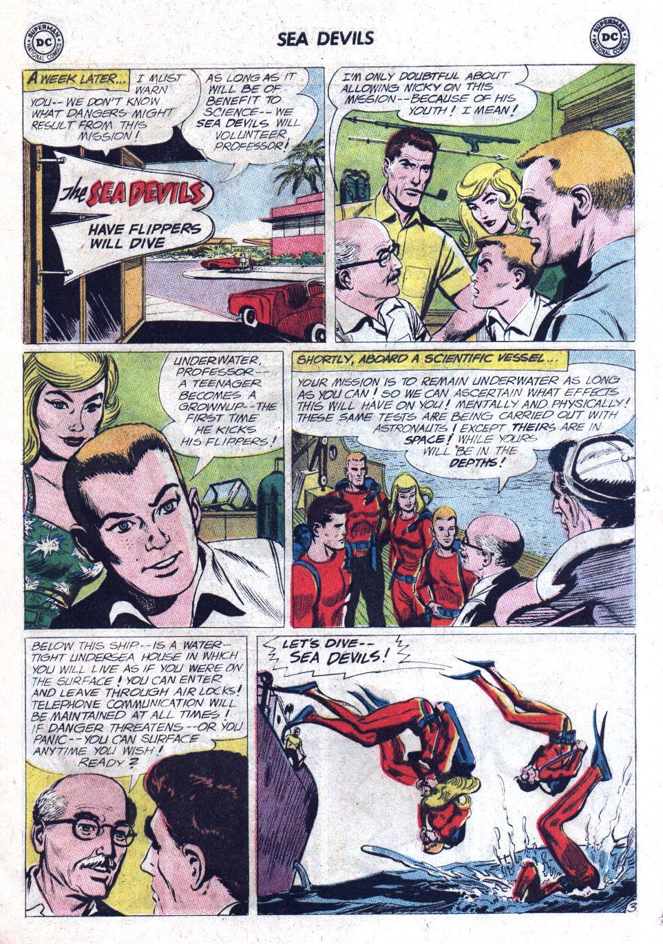 Read online Sea Devils comic -  Issue #11 - 5