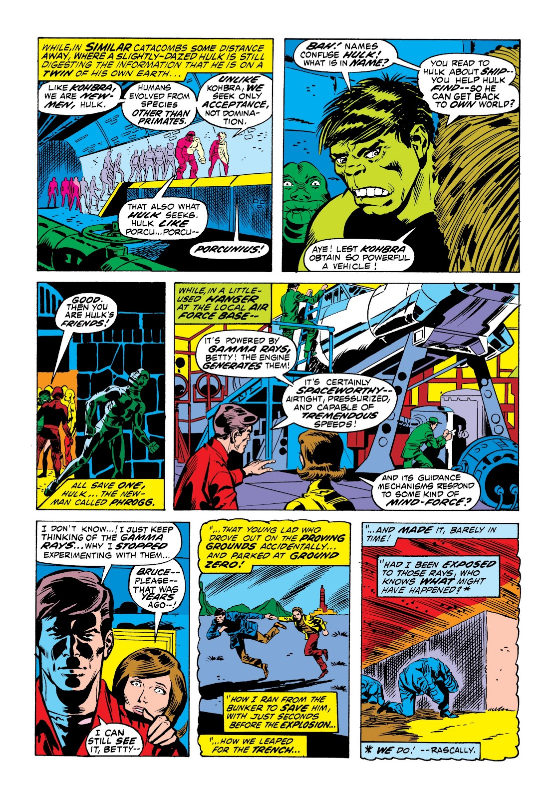 Read online Marvel Masterworks: The Incredible Hulk comic -  Issue # TPB 9 (Part 1) - 40