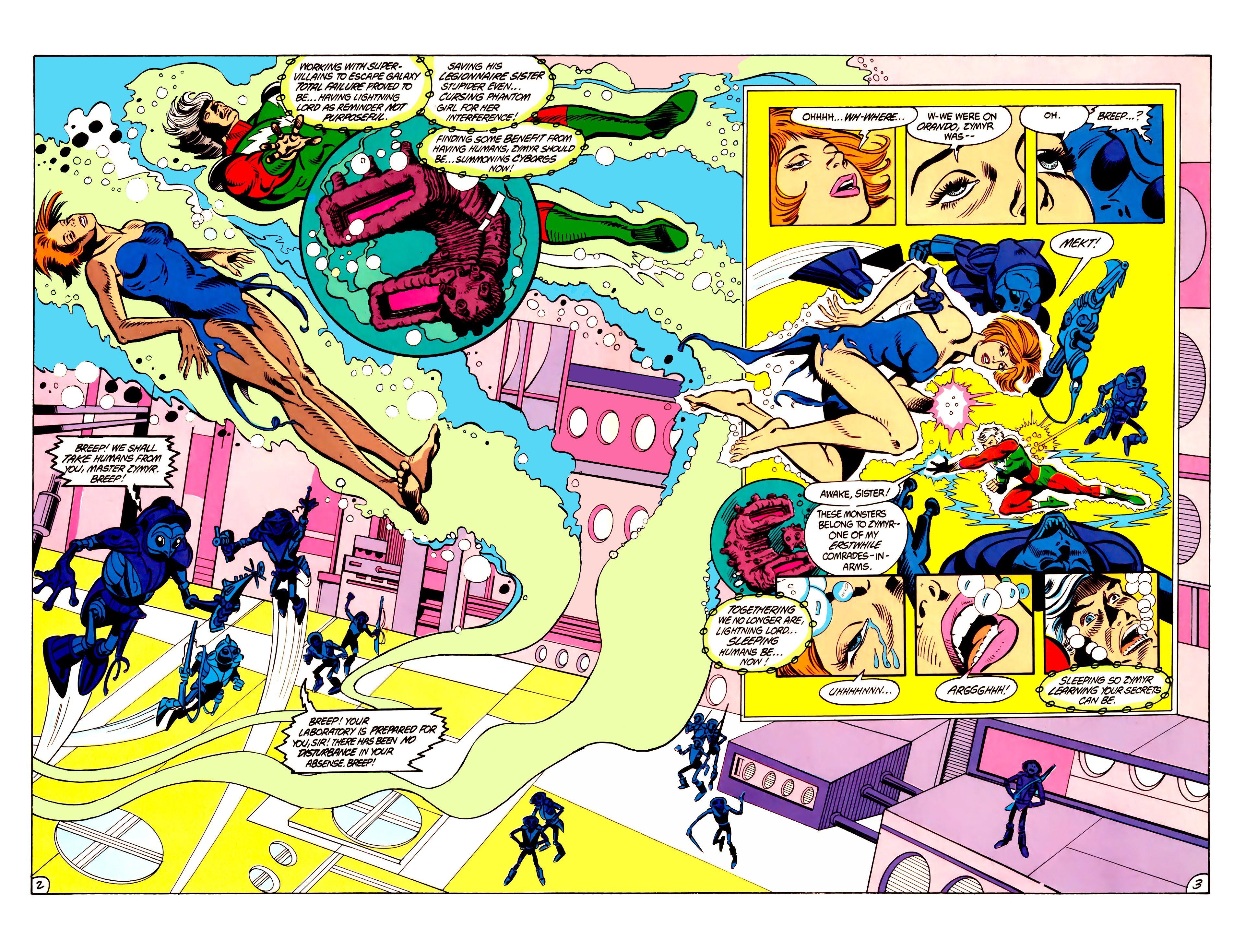 Legion of Super-Heroes (1984) 6 Page 3