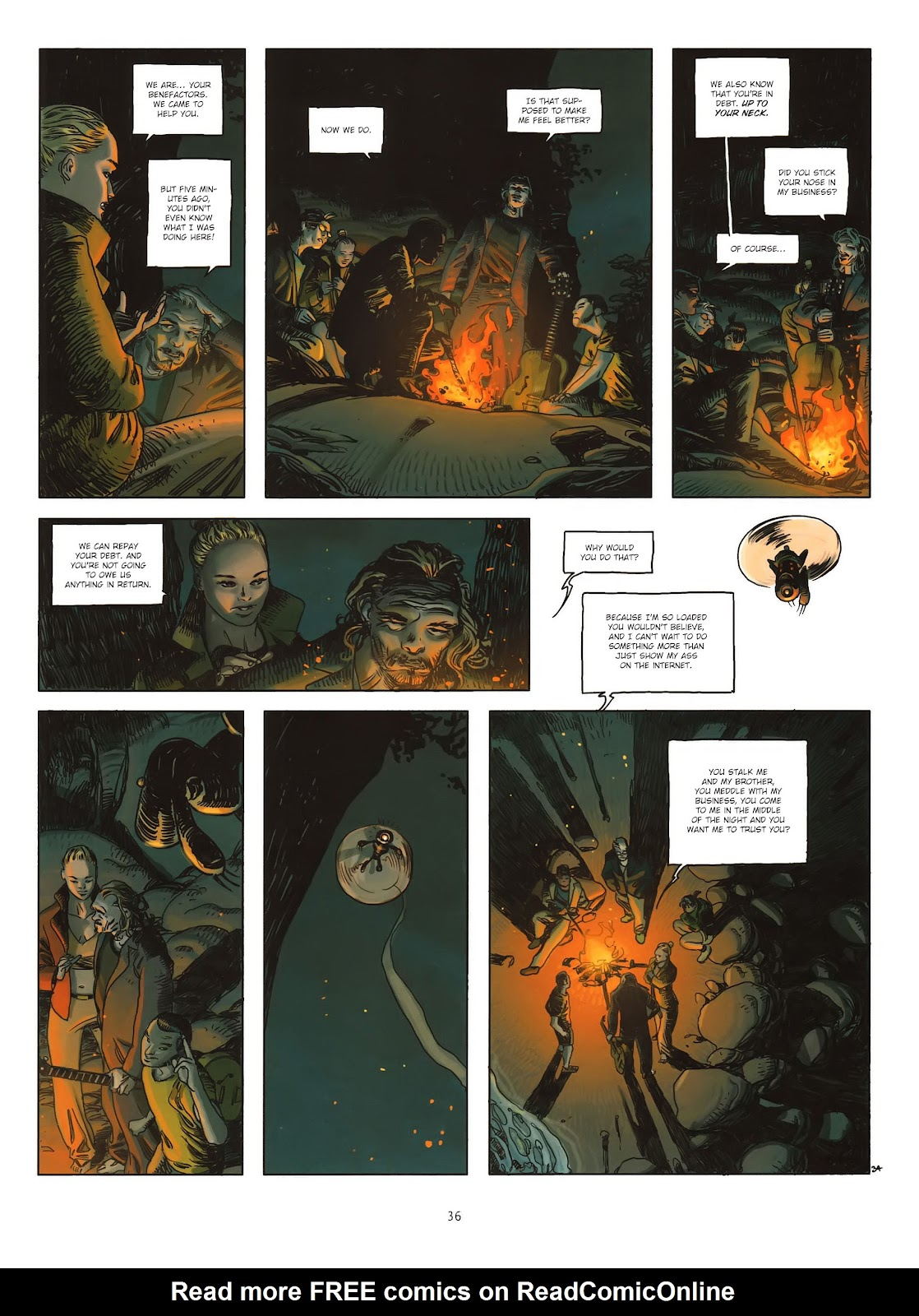 Read online Cutting Edge (2013) comic -  Issue #1 - 34
