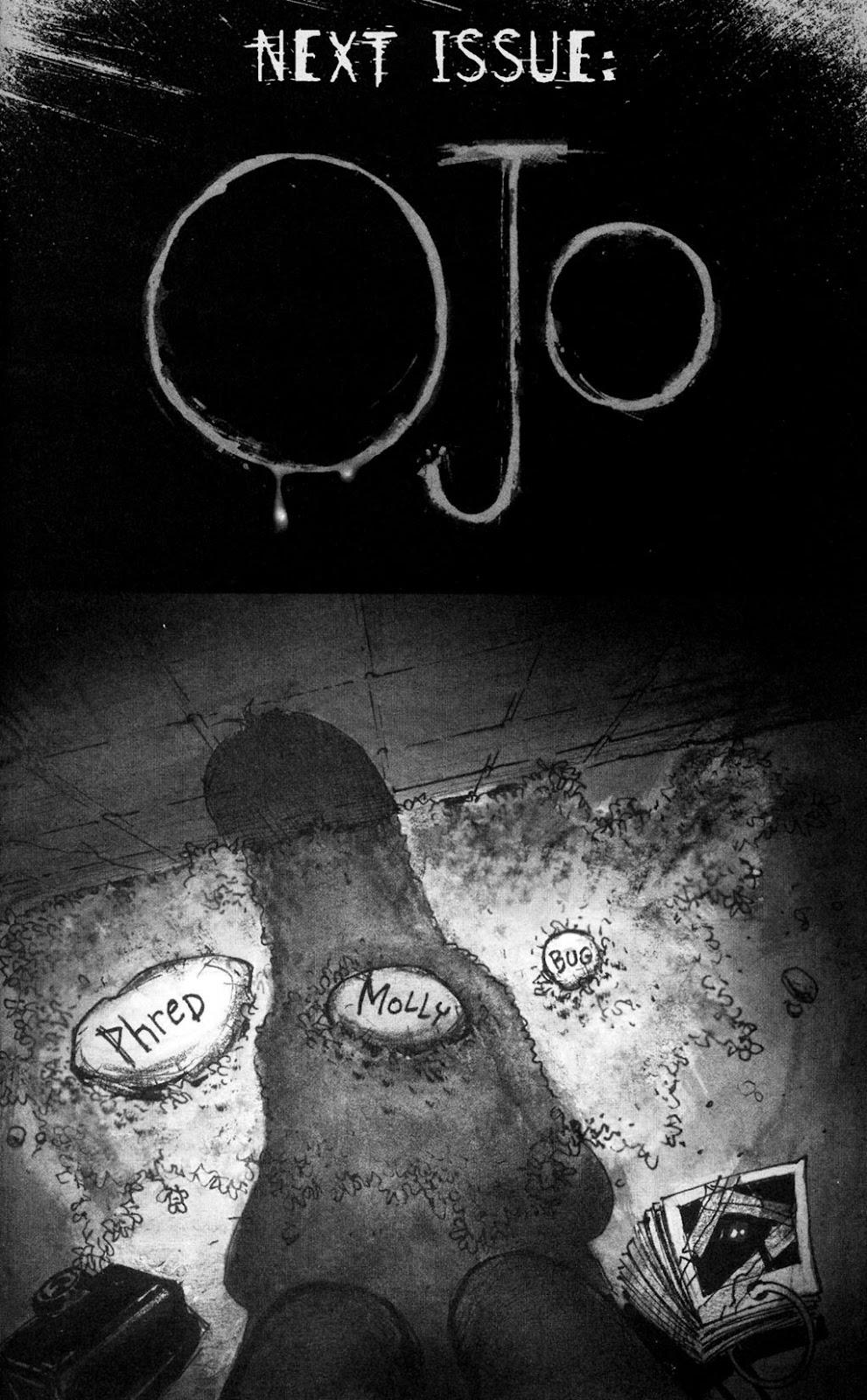 Read online Ojo comic -  Issue #4 - 23