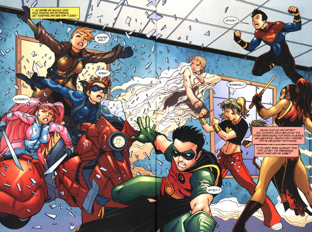 Read online SpyBoy/Young Justice comic -  Issue #2 - 5