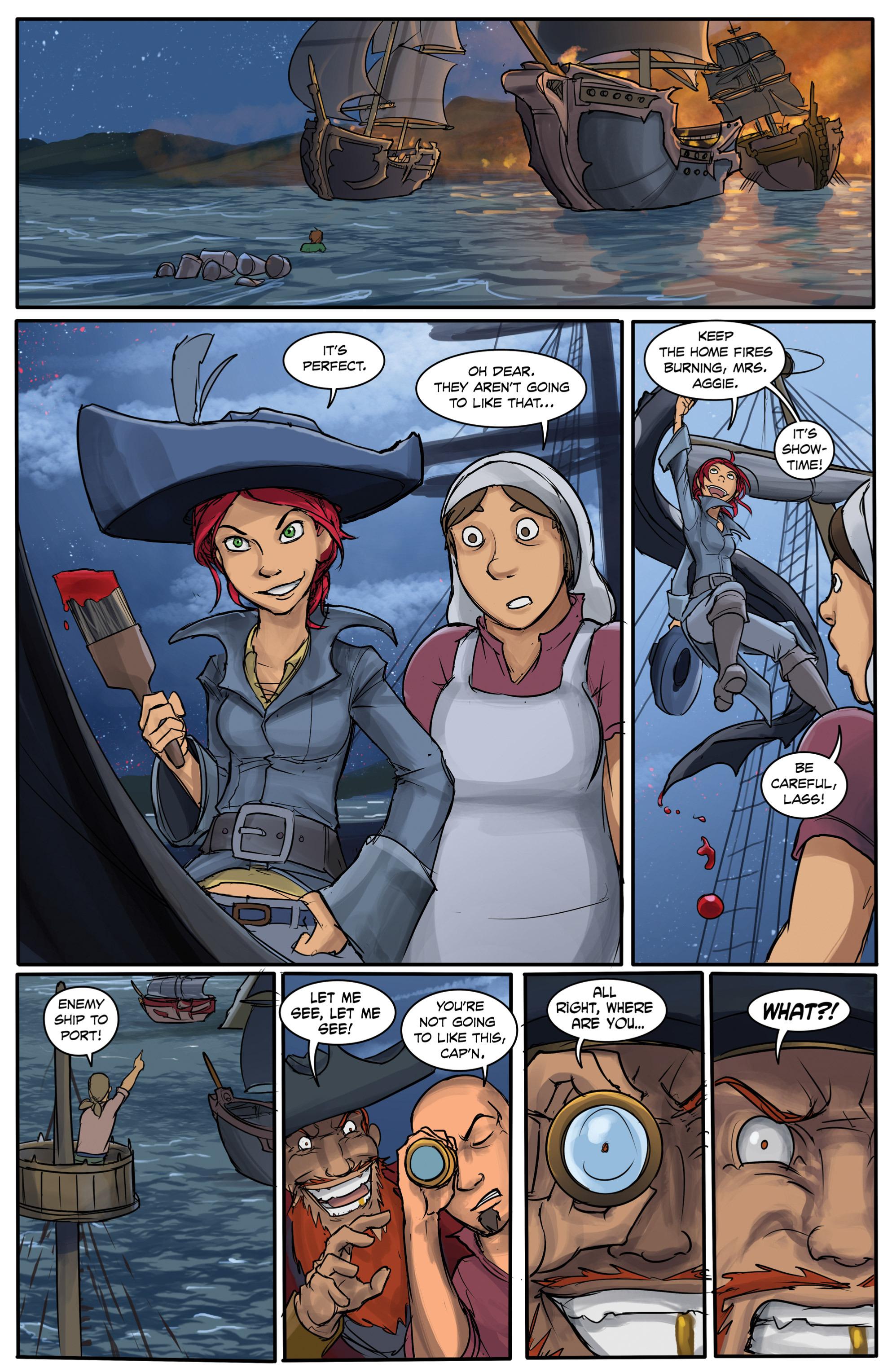 Read online Anne Bonnie comic -  Issue #6 - 11