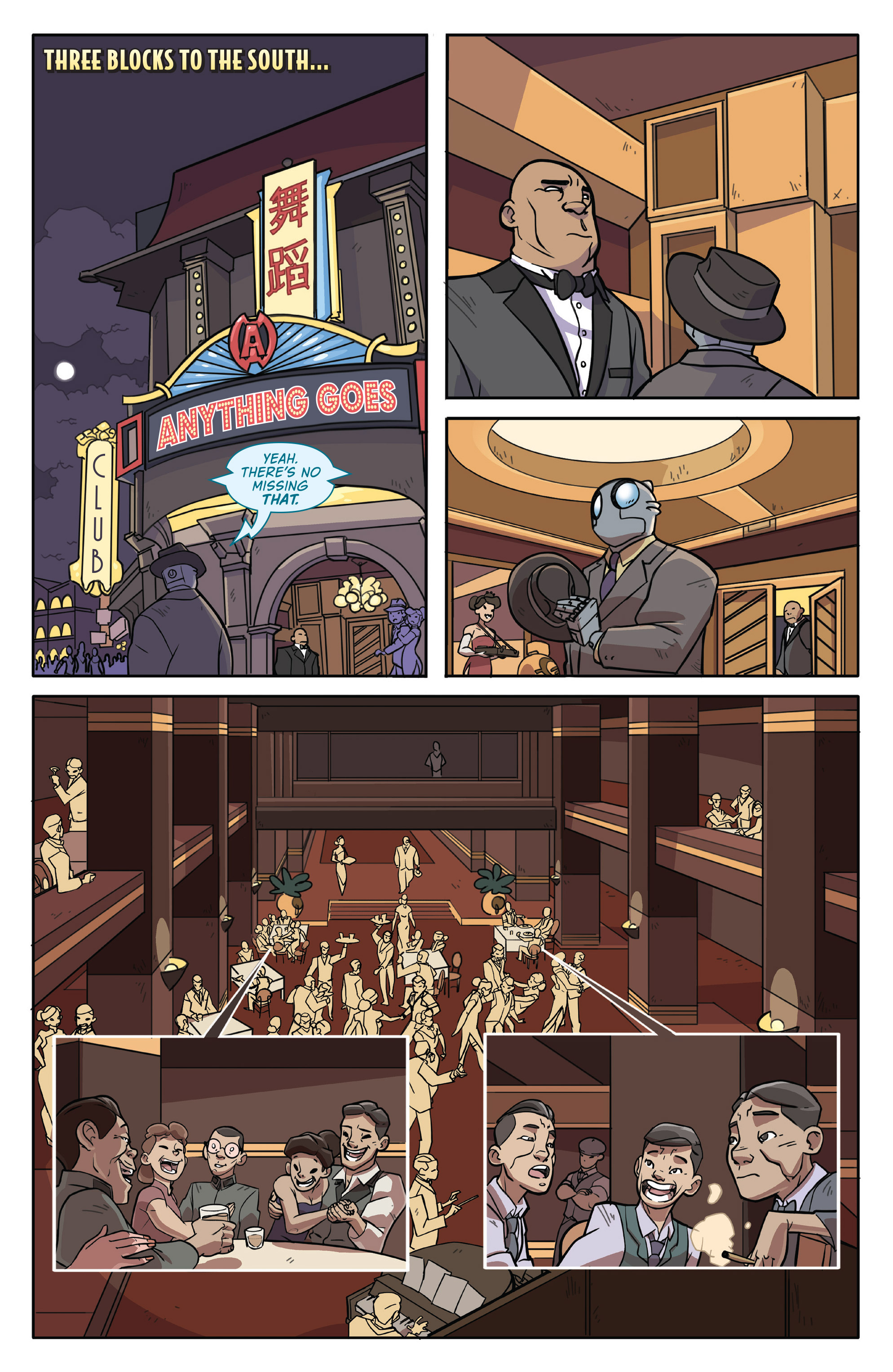 Read online Atomic Robo and the Temple of Od comic -  Issue #1 - 11