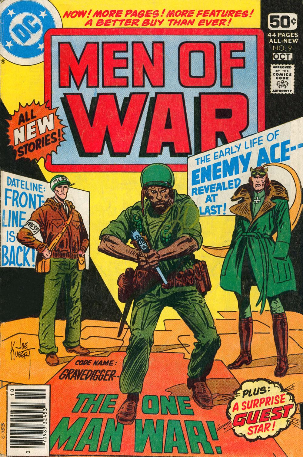 Men of War 9 Page 1