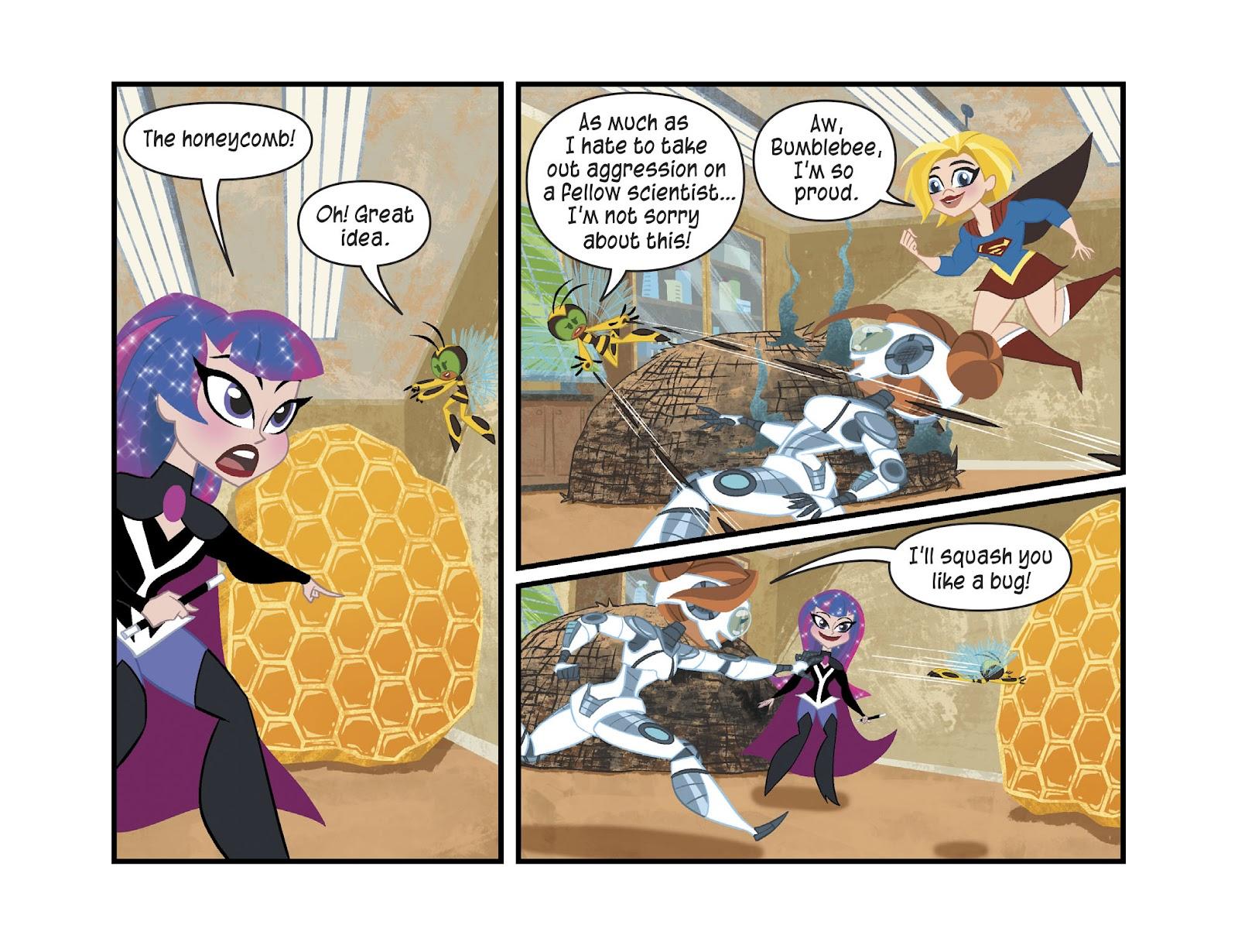 Read online DC Super Hero Girls: Weird Science comic -  Issue #13 - 19