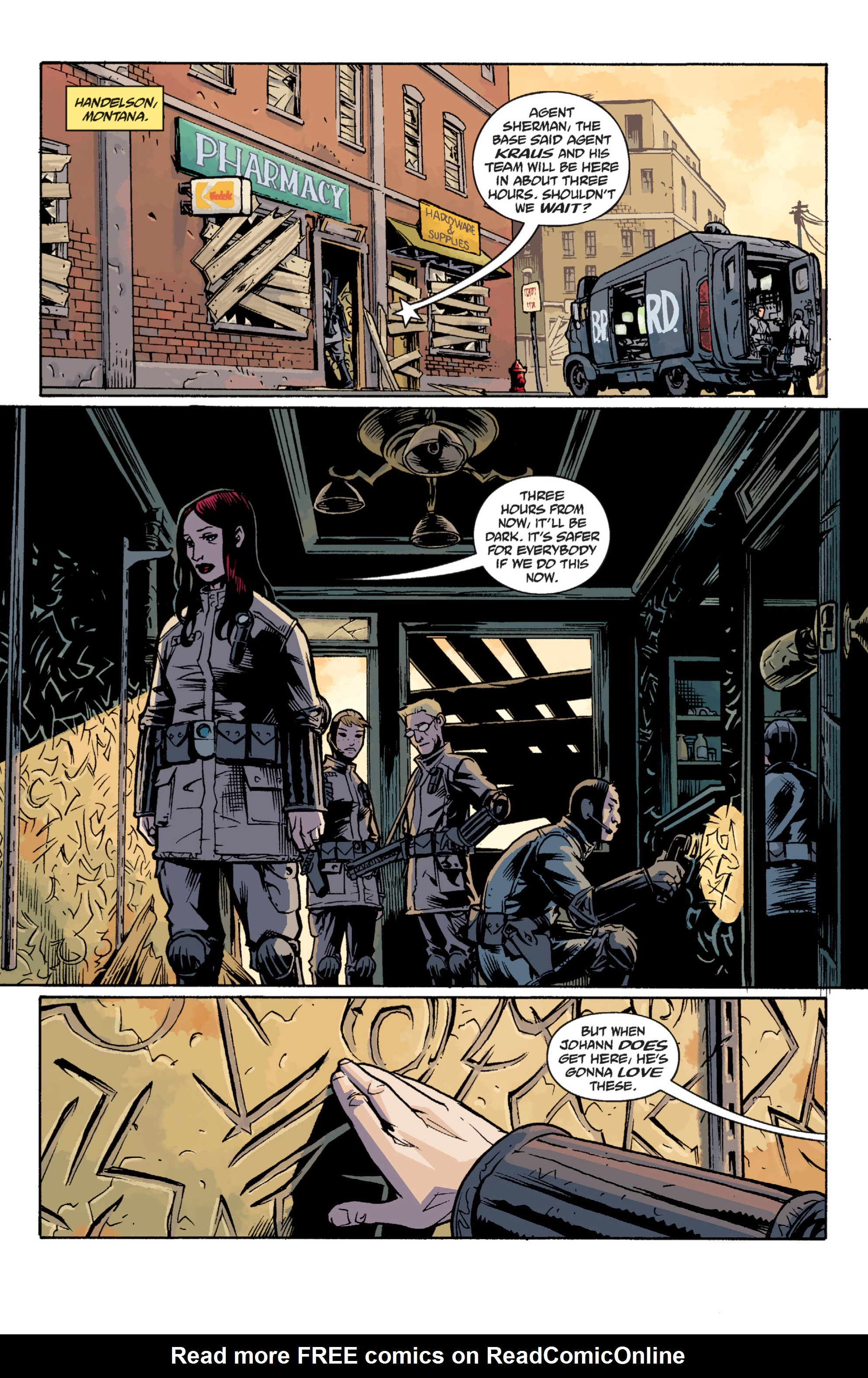 Read online B.P.R.D. (2003) comic -  Issue # TPB 12 - 116