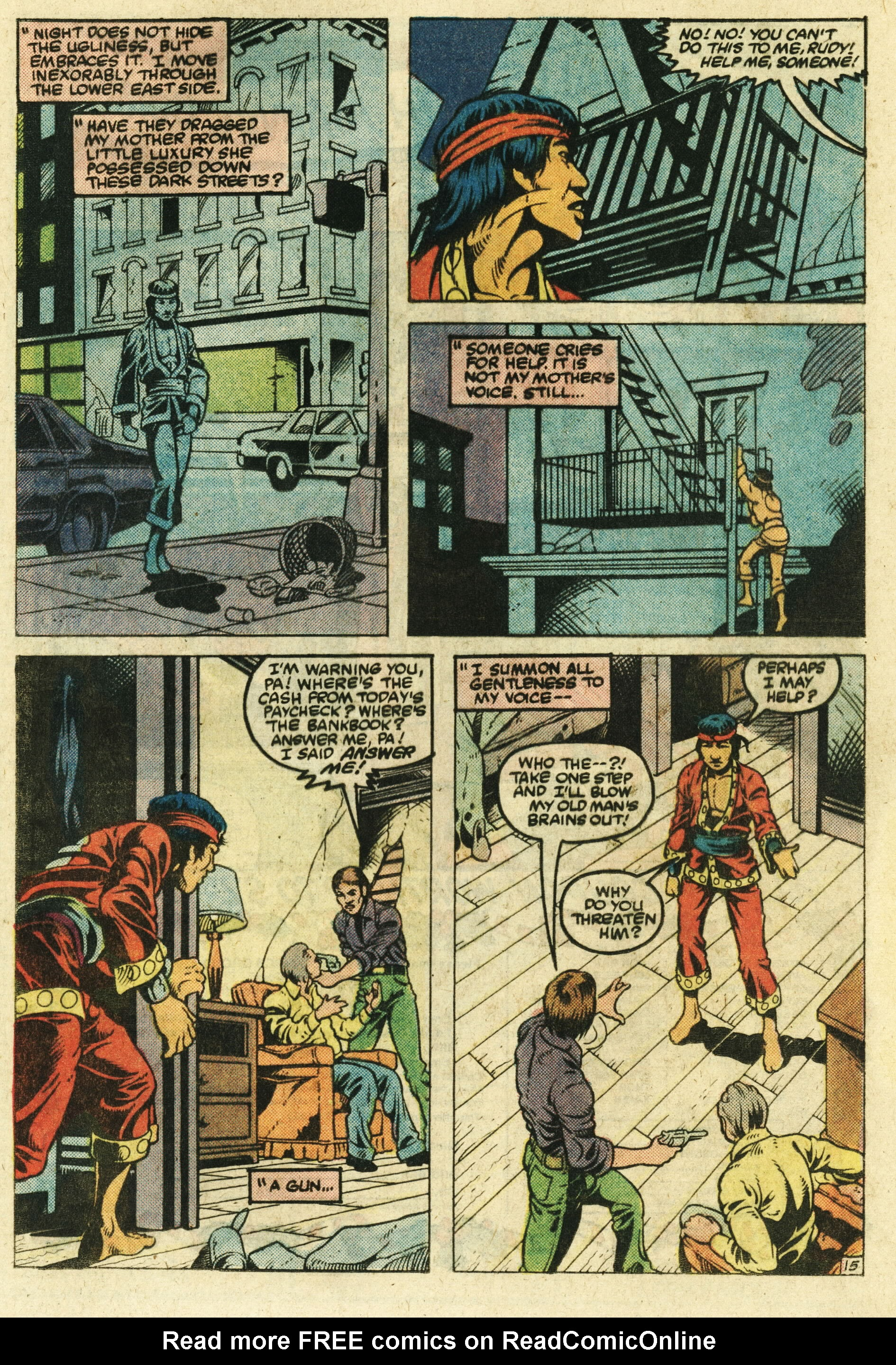 Read online Master of Kung Fu (1974) comic -  Issue #123 - 16