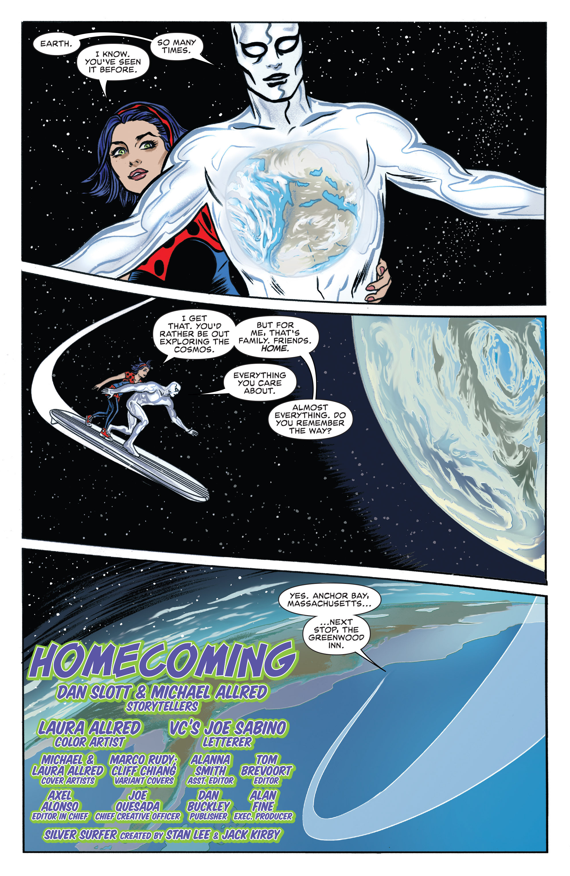 Read online Silver Surfer (2016) comic -  Issue #1 - 7