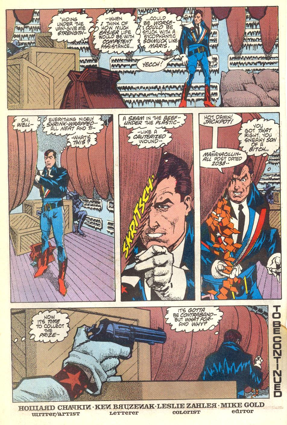 Read online American Flagg! comic -  Issue #17 - 21