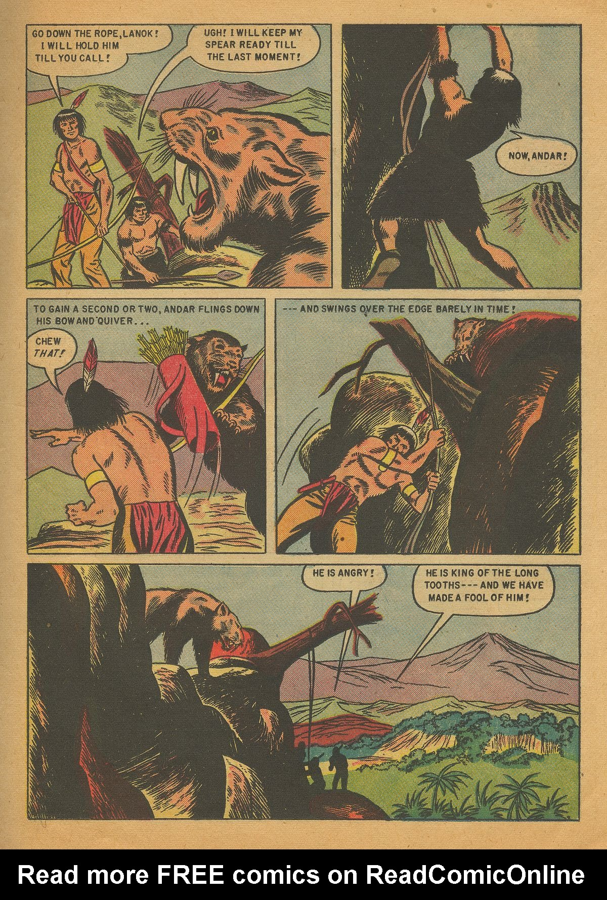 Read online Turok, Son of Stone comic -  Issue #4 - 23