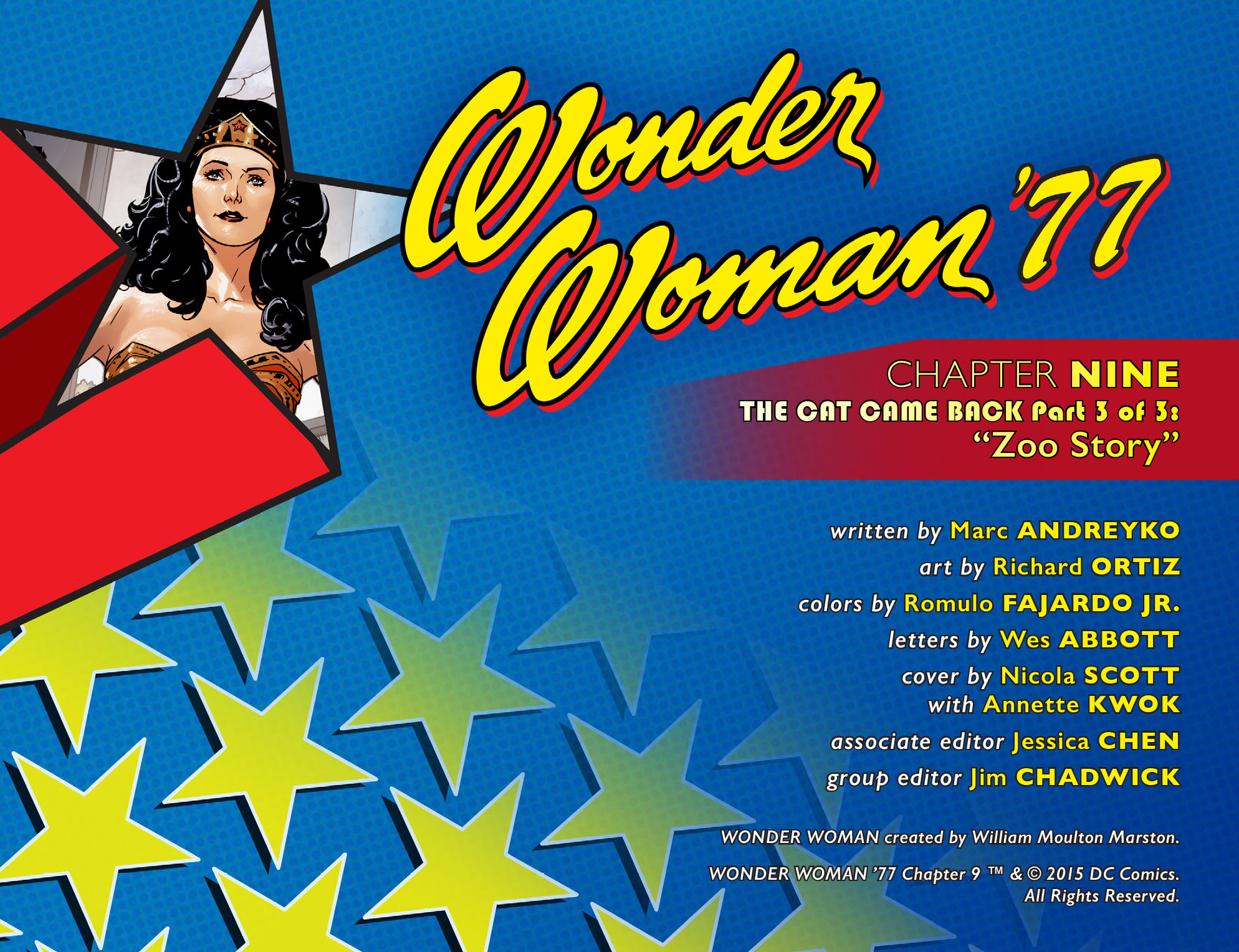 Read online Wonder Woman '77 [I] comic -  Issue #9 - 2