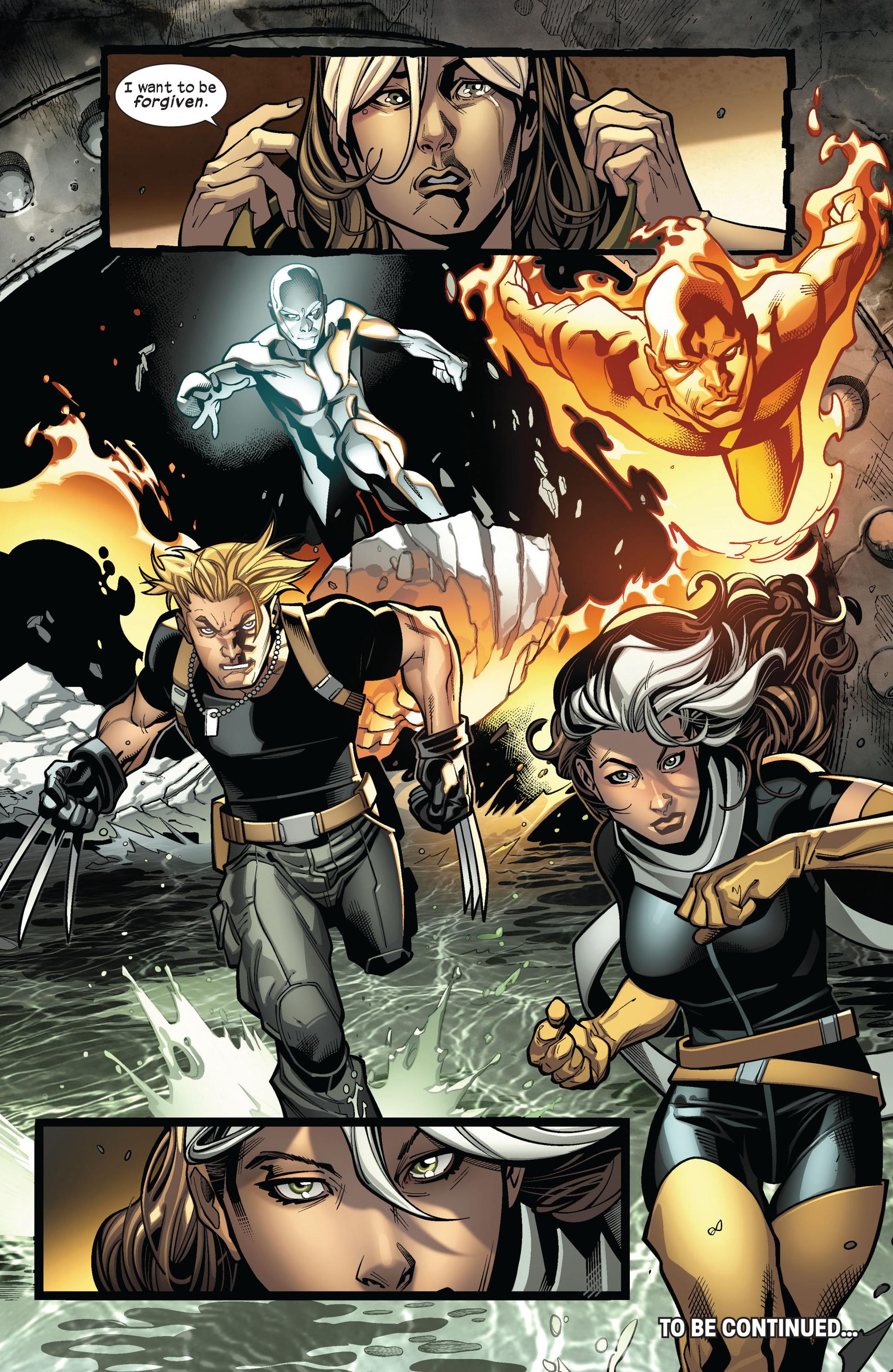 Read online Ultimate Comics X-Men comic -  Issue #4 - 21