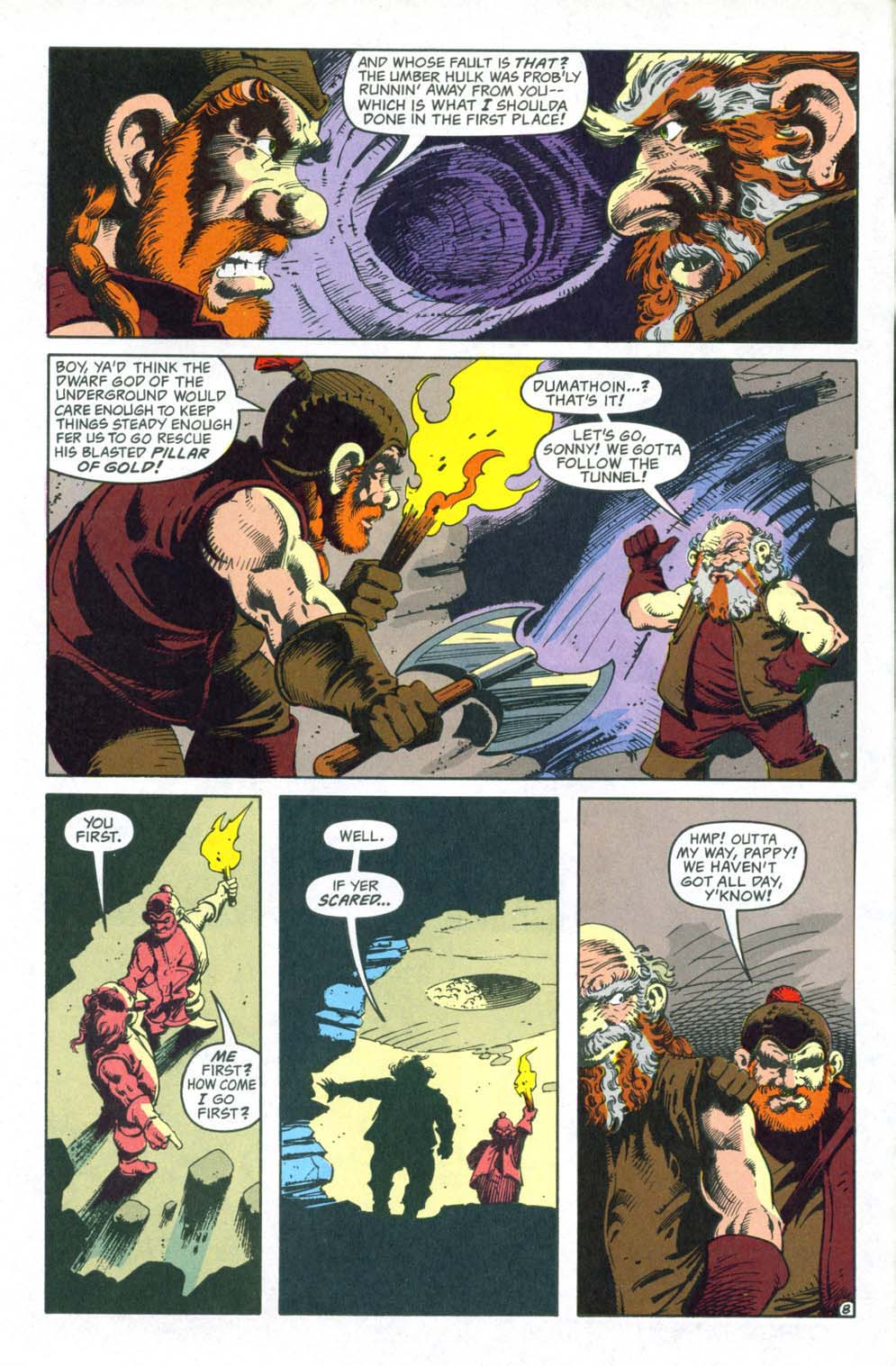 Read online Advanced Dungeons & Dragons comic -  Issue #32 - 9