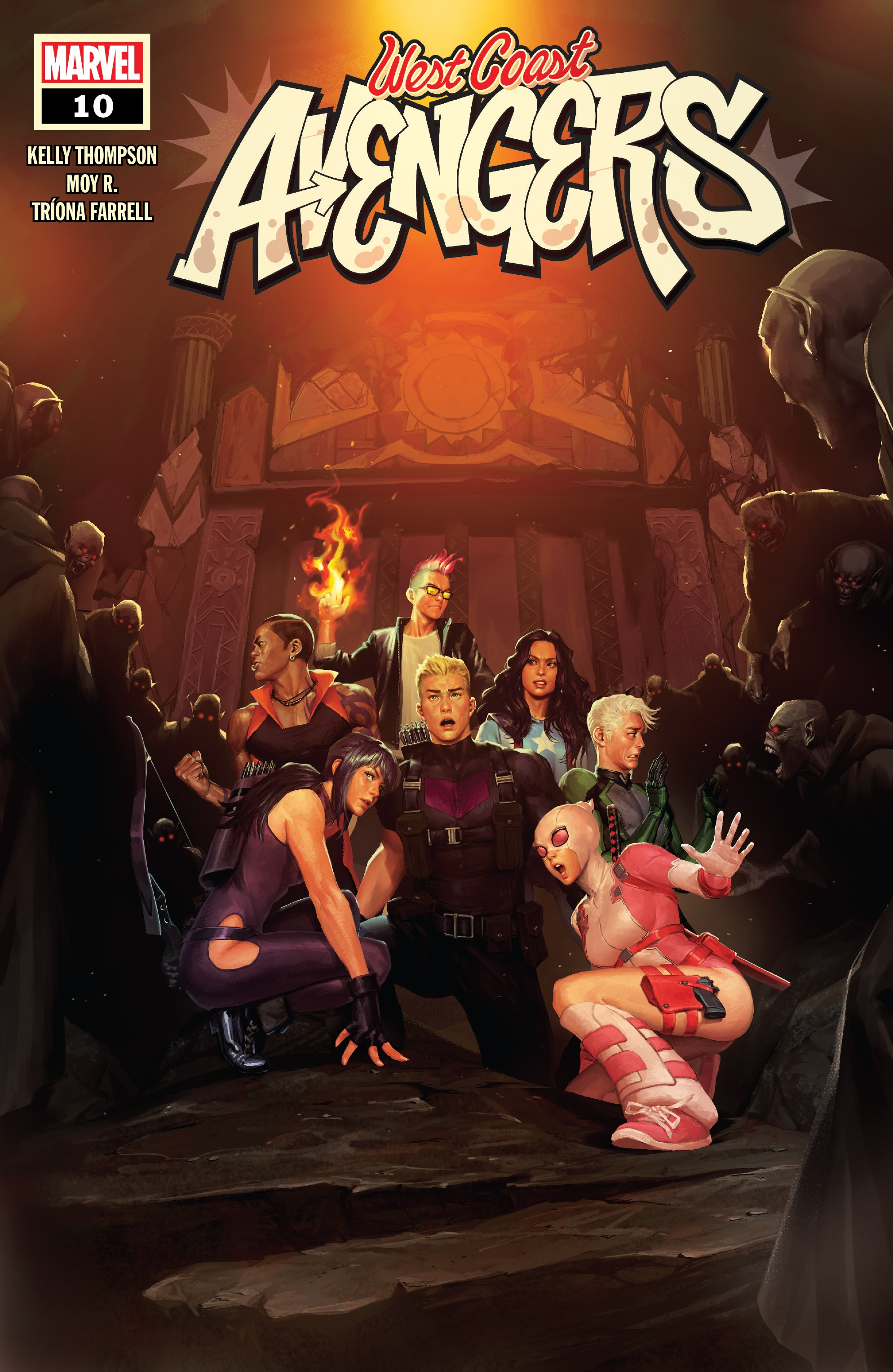 West Coast Avengers (2018) 10 Page 1