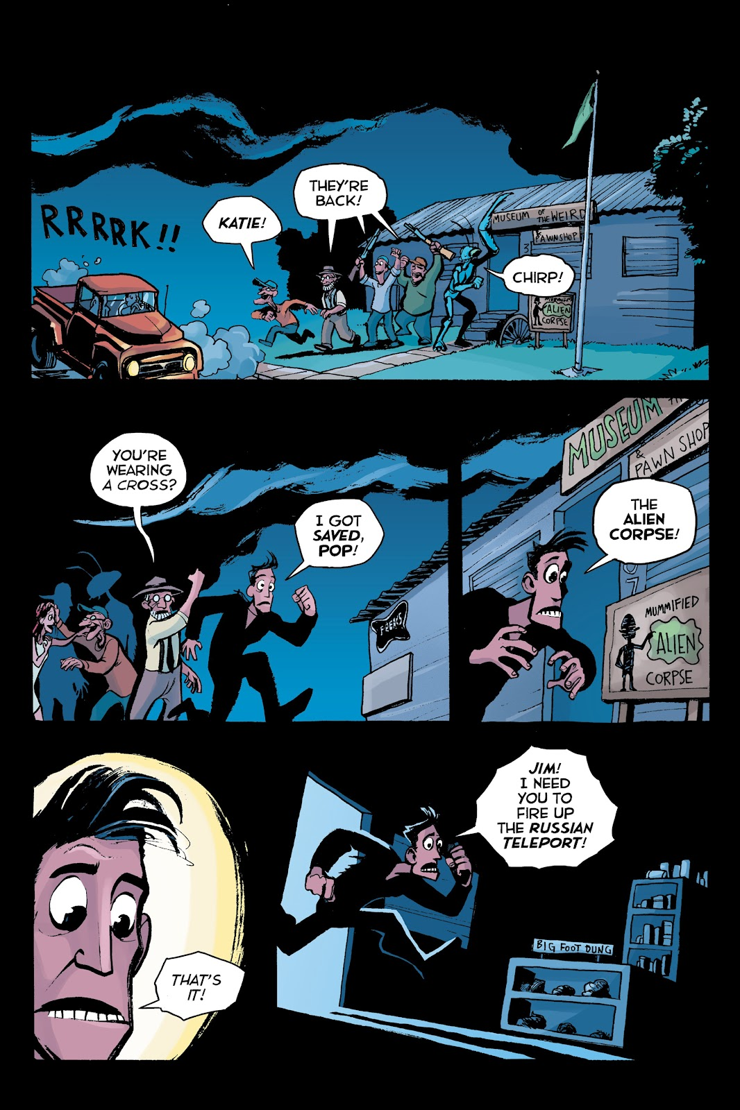 Read online Creature Tech (2019) comic -  Issue # TPB (Part 2) - 84