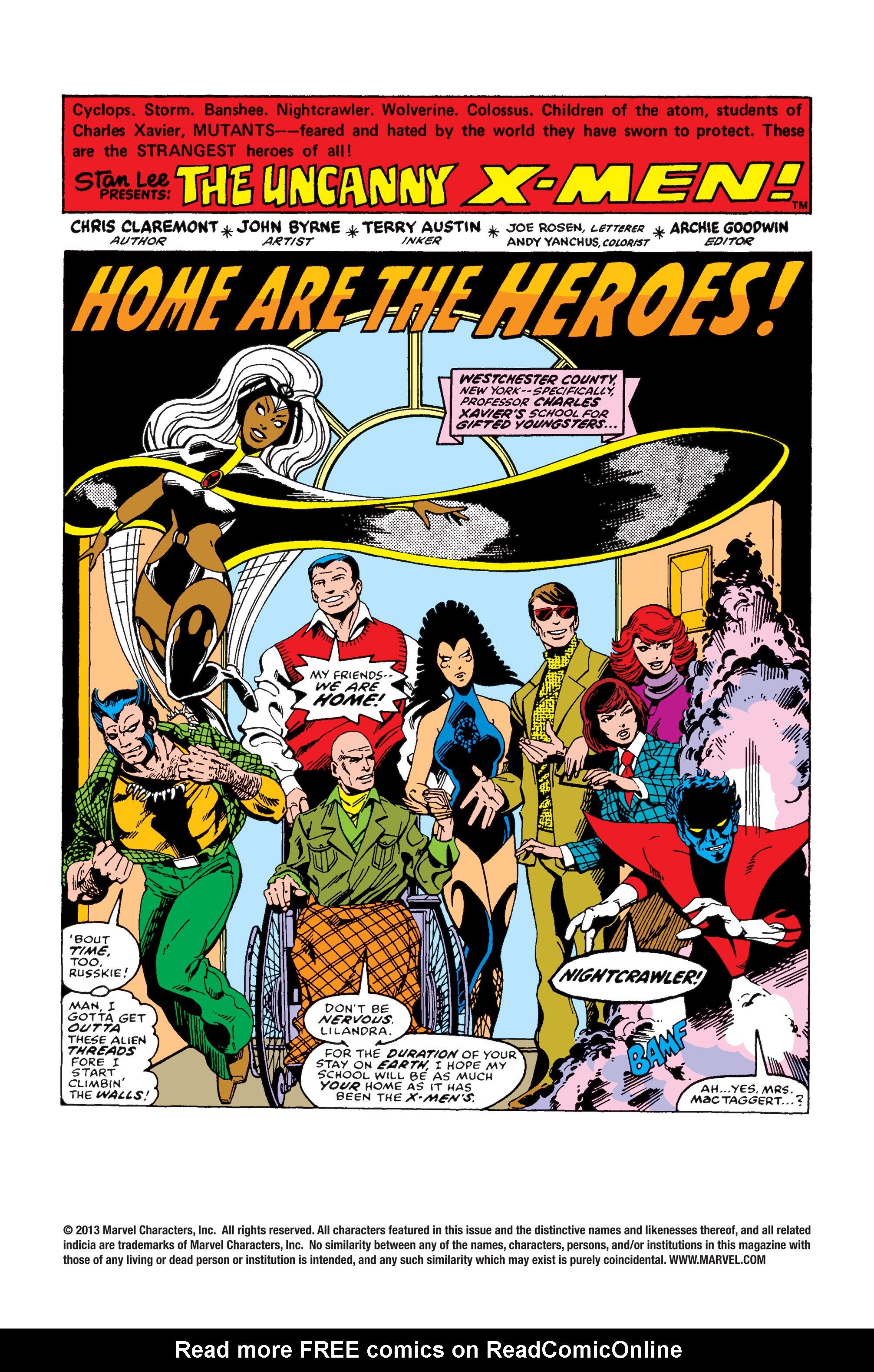 Uncanny X-Men (1963) 109 Page 1