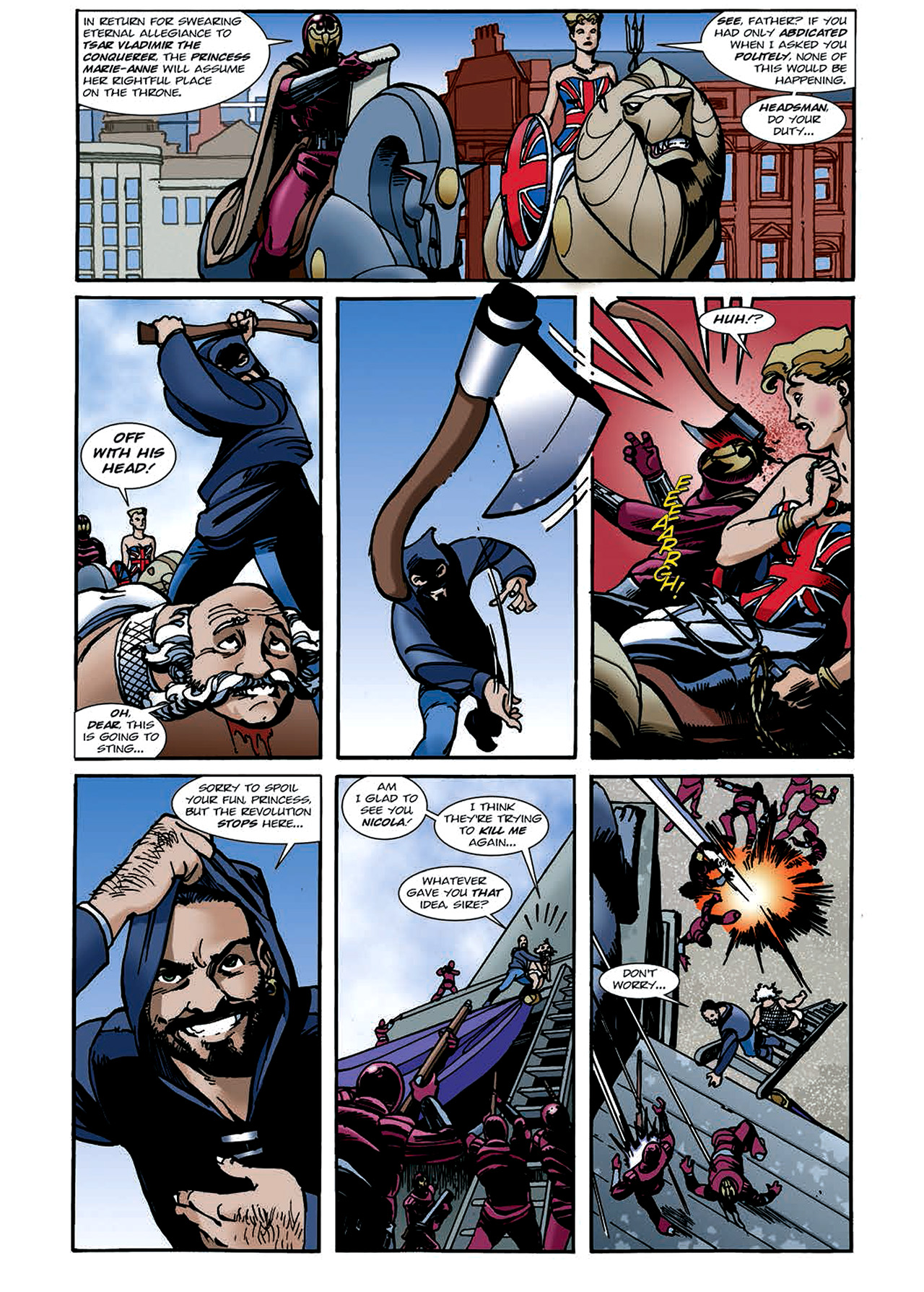 Read online Nikolai Dante comic -  Issue # TPB 4 - 103