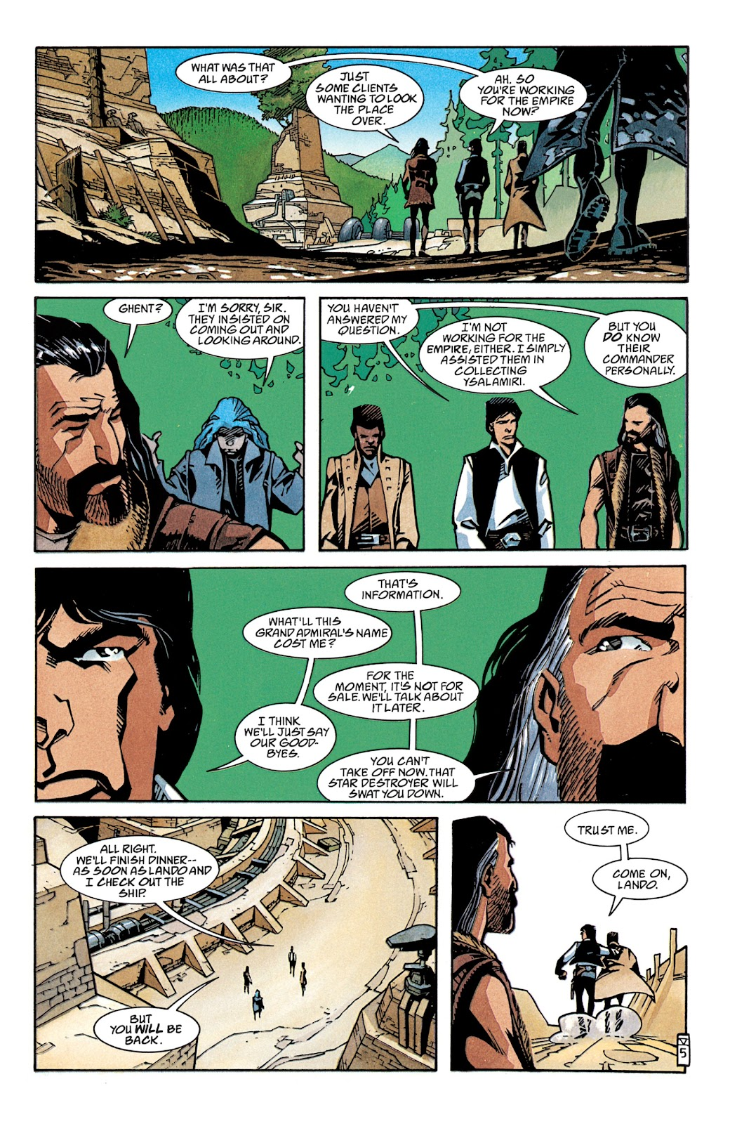 Read online Star Wars Legends: The New Republic - Epic Collection comic -  Issue # TPB 4 (Part 2) - 6