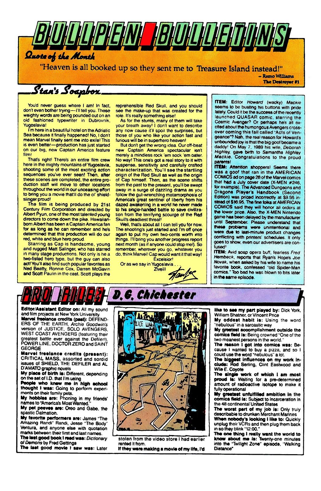 Uncanny X-Men (1963) issue 254 - Page 21