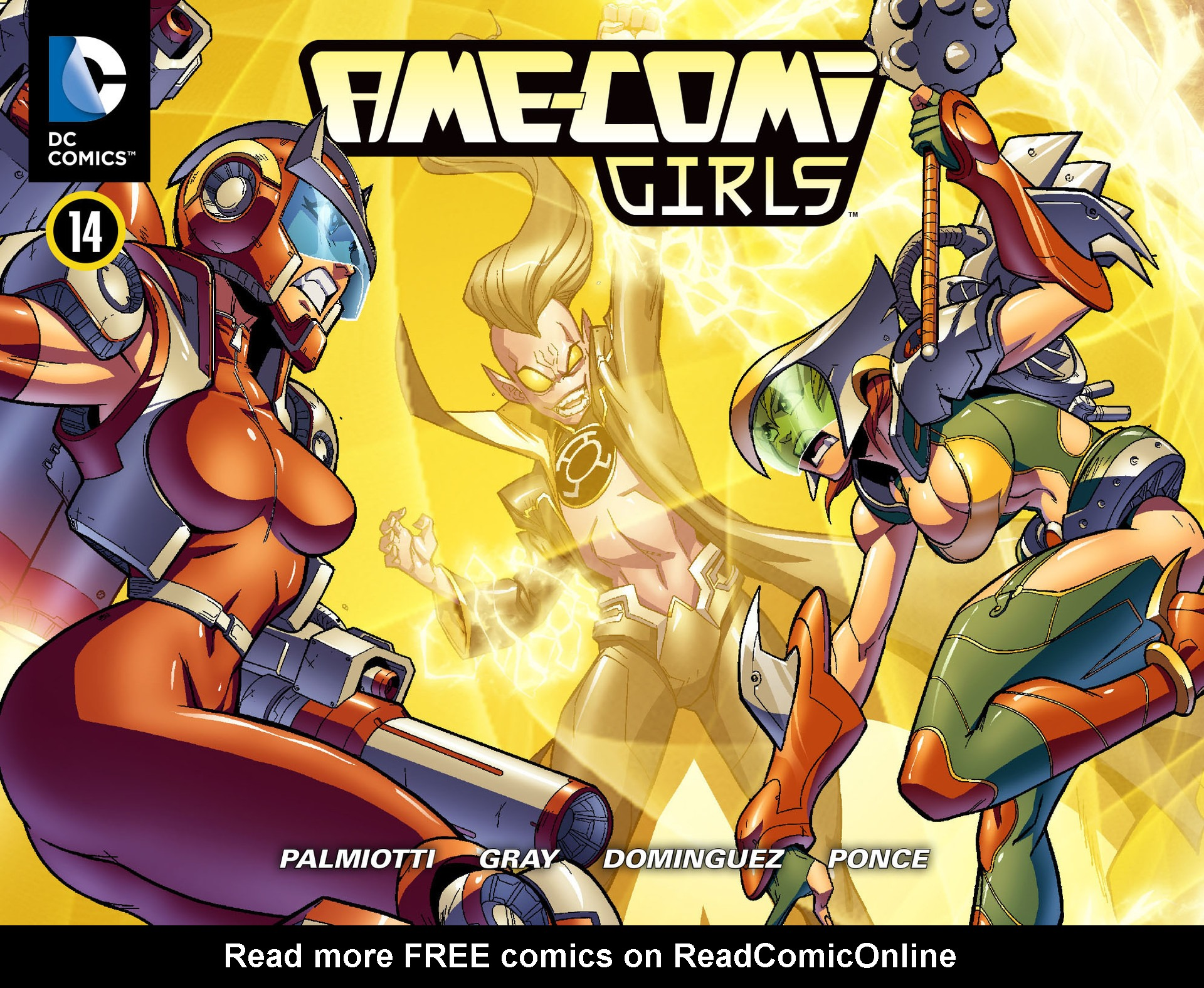 Read online Ame-Comi Girls comic -  Issue #14 - 1