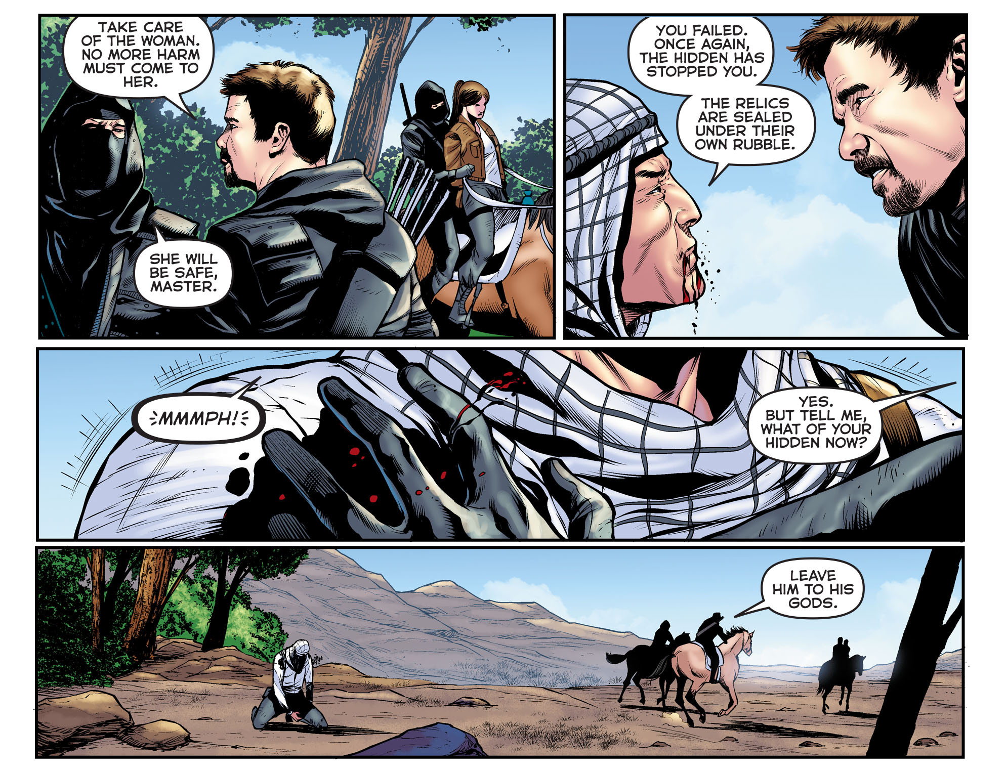 Read online Arrow: The Dark Archer comic -  Issue #11 - 6