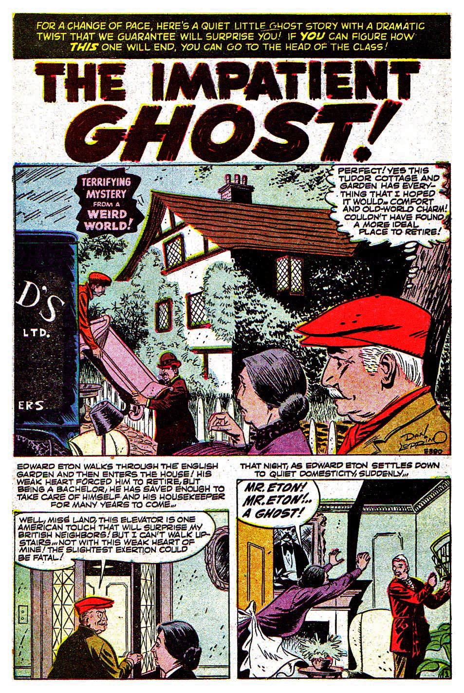Read online Adventures into Weird Worlds comic -  Issue #30 - 16