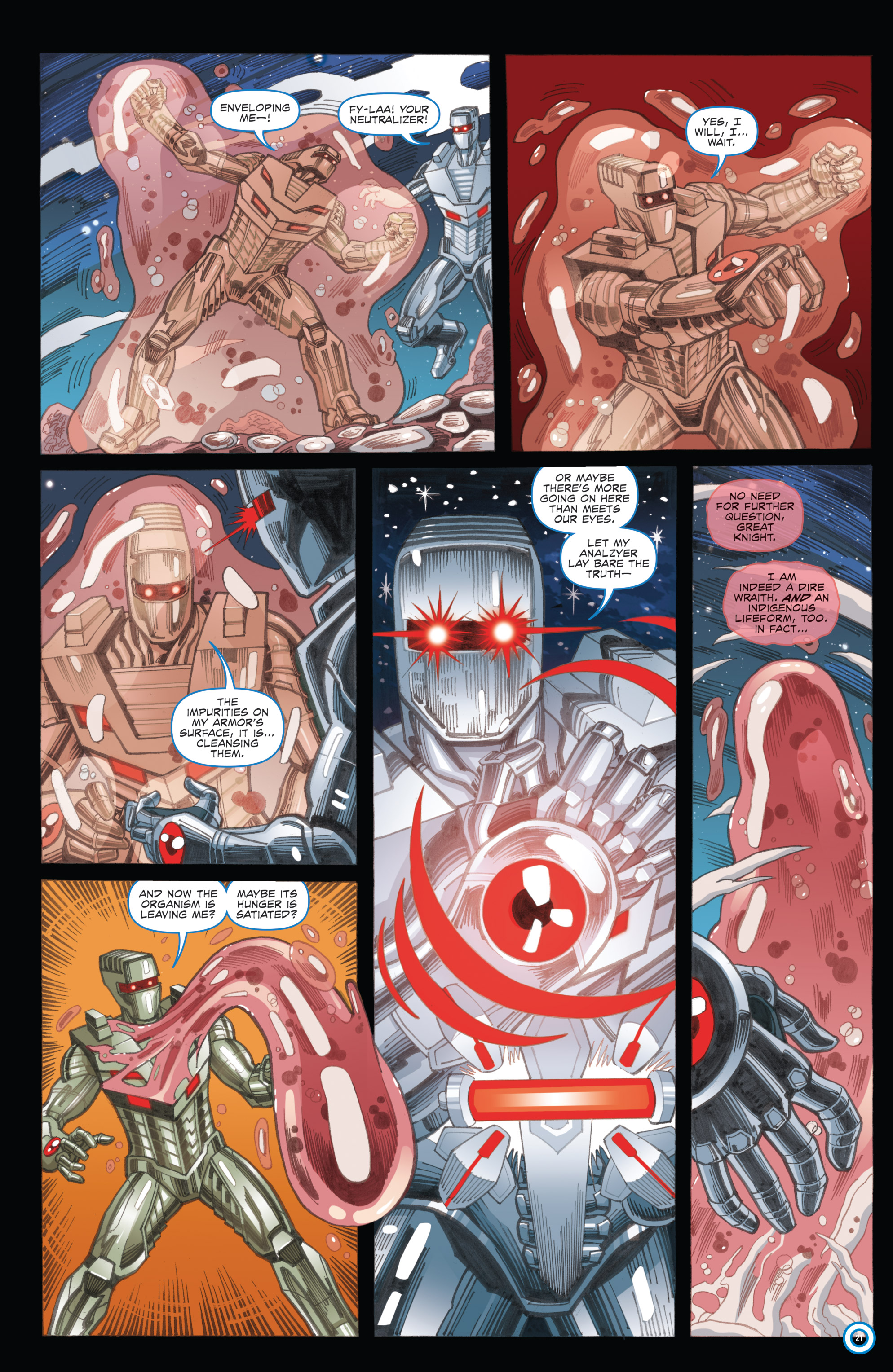 Read online ROM (2016) comic -  Issue #11 - 23
