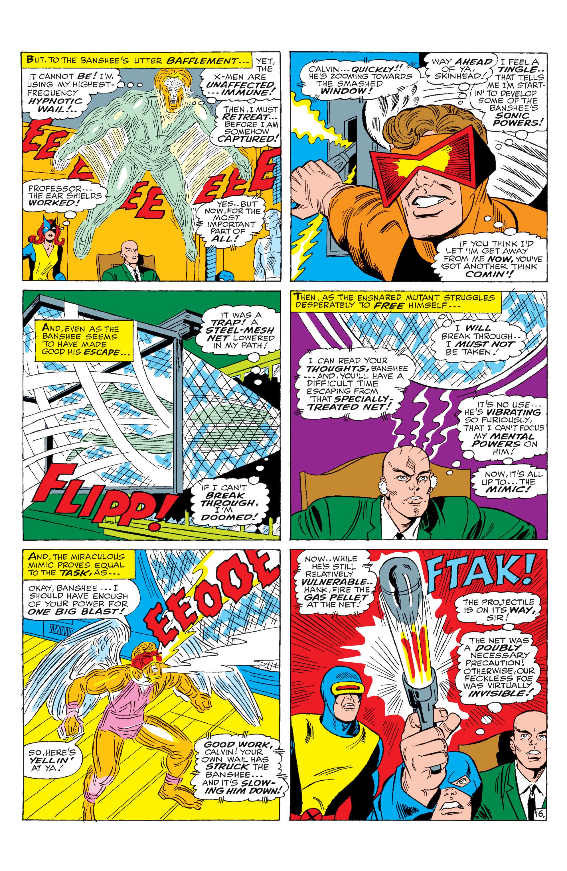 Read online Uncanny X-Men (1963) comic -  Issue #28 - 17