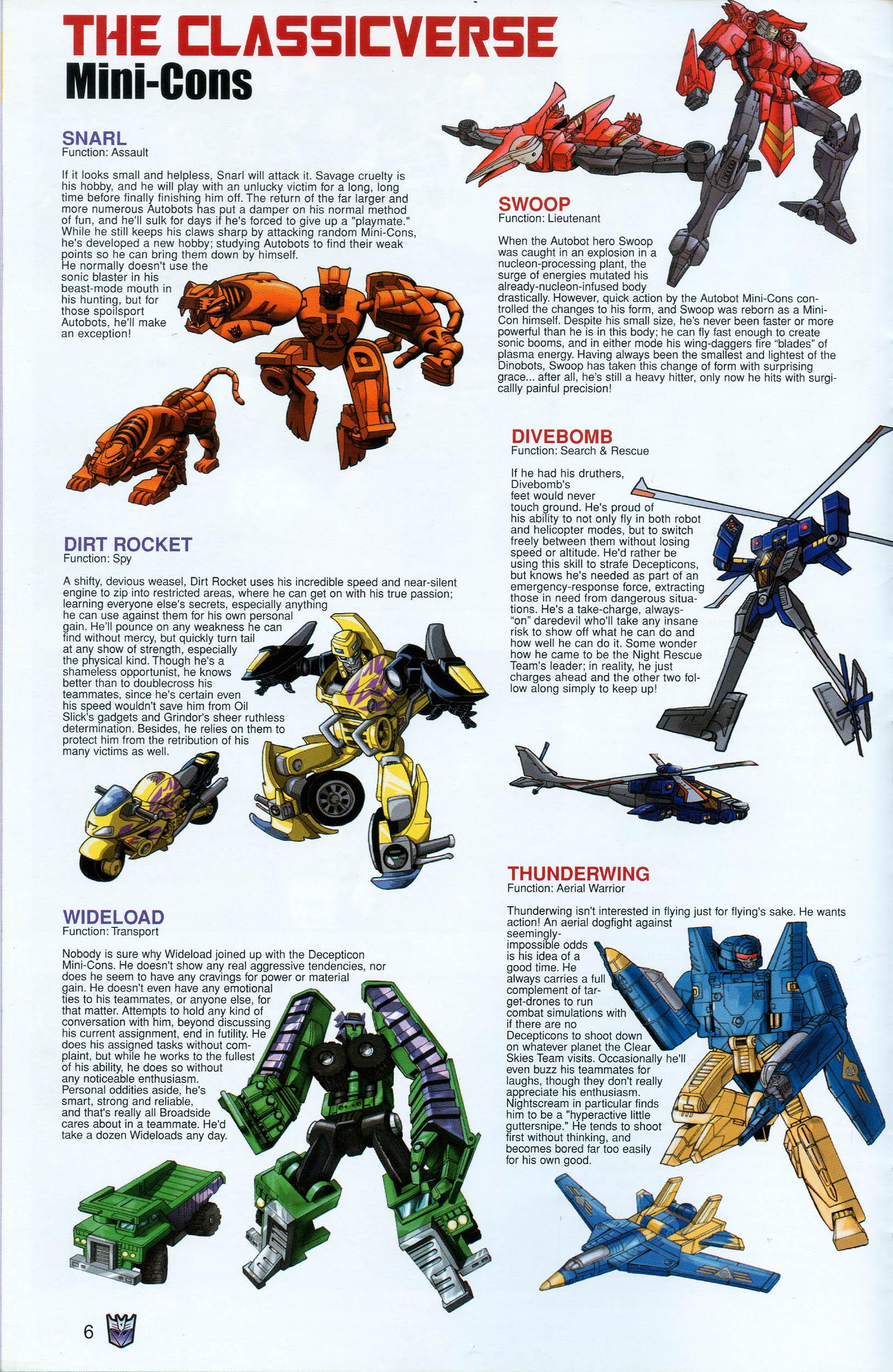 Read online Transformers: Collectors' Club comic -  Issue #18 - 6