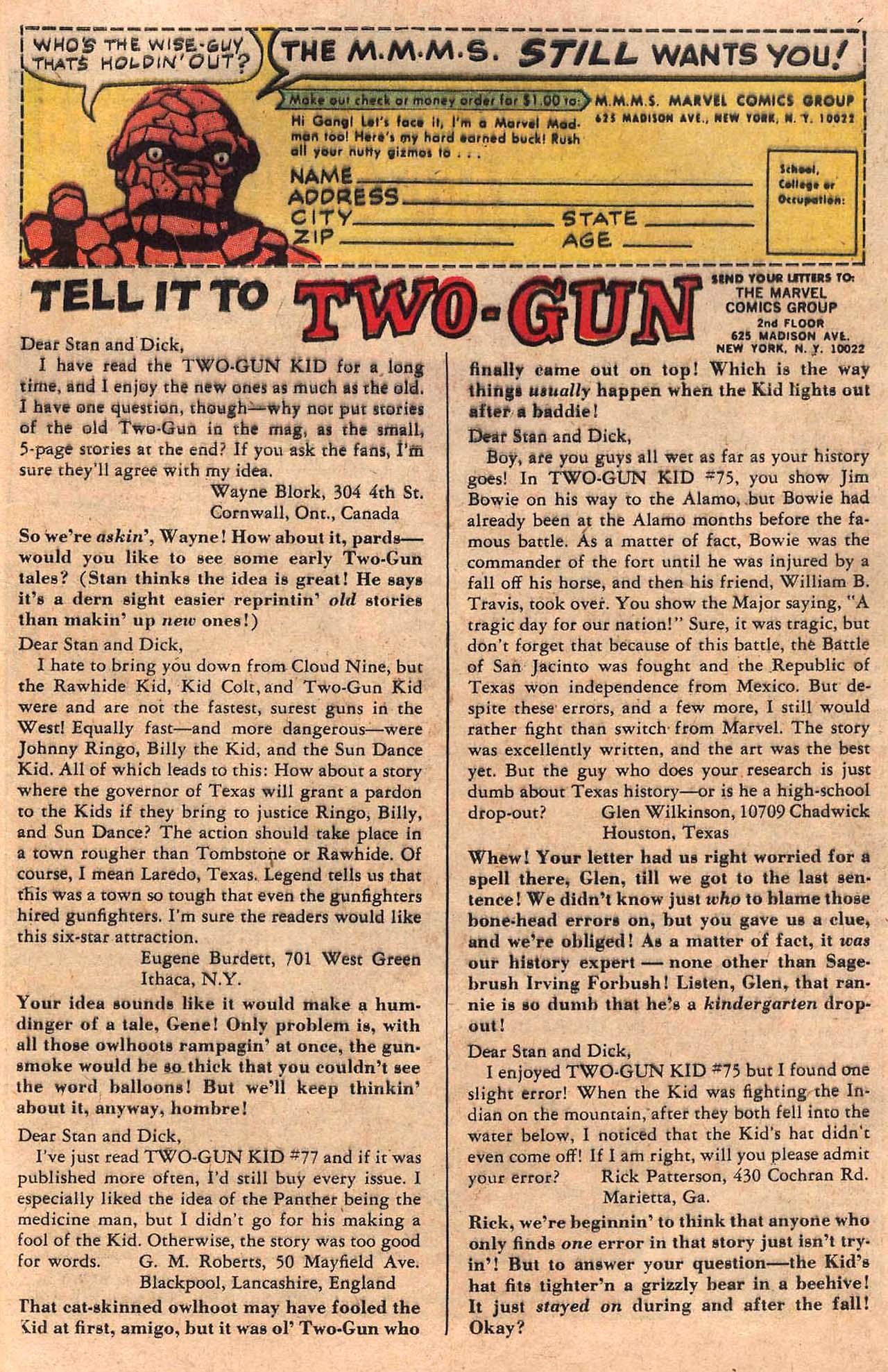Read online Two-Gun Kid comic -  Issue #82 - 33