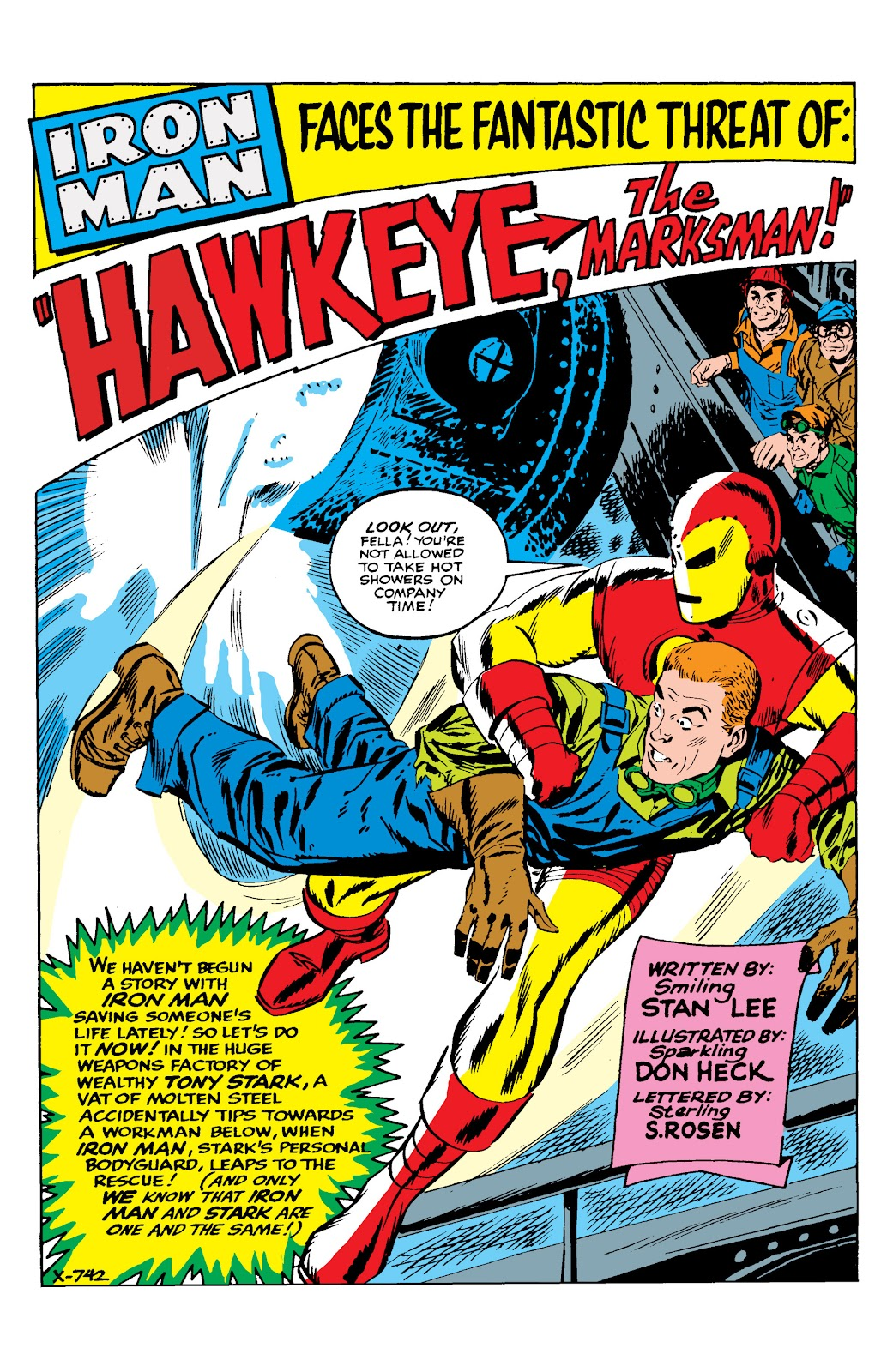 Read online Marvel Masterworks: The Invincible Iron Man comic -  Issue # TPB 2 (Part 2) - 2