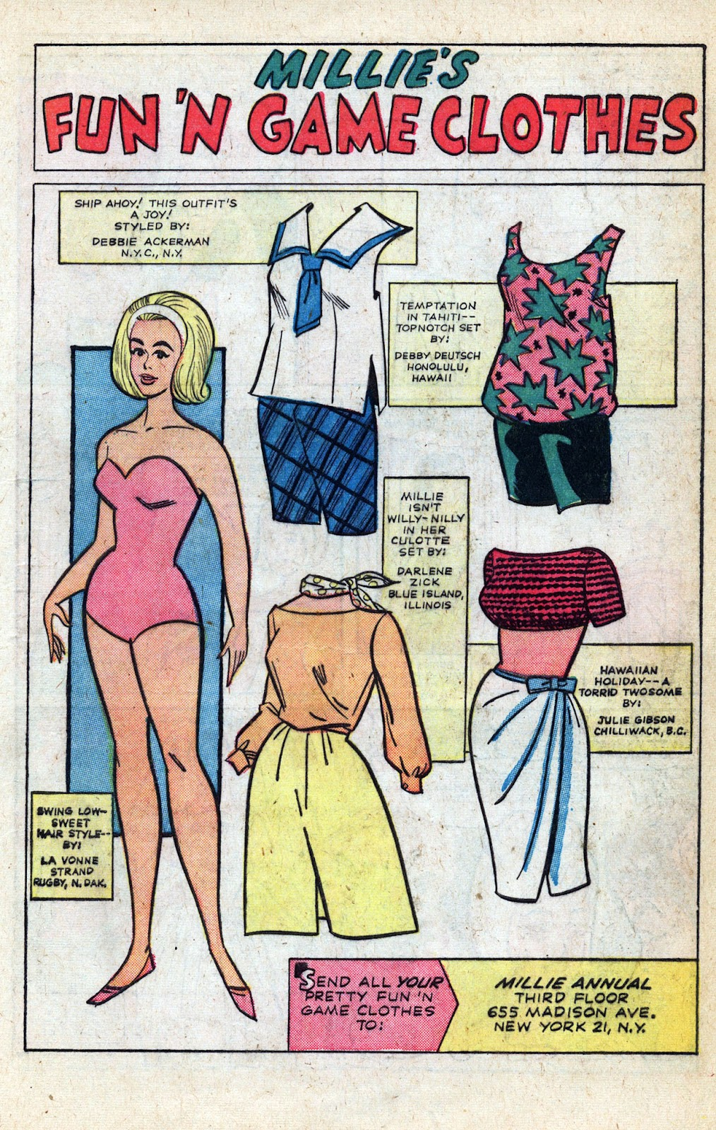 Read online Millie the Model comic -  Issue # Annual 3 - 43